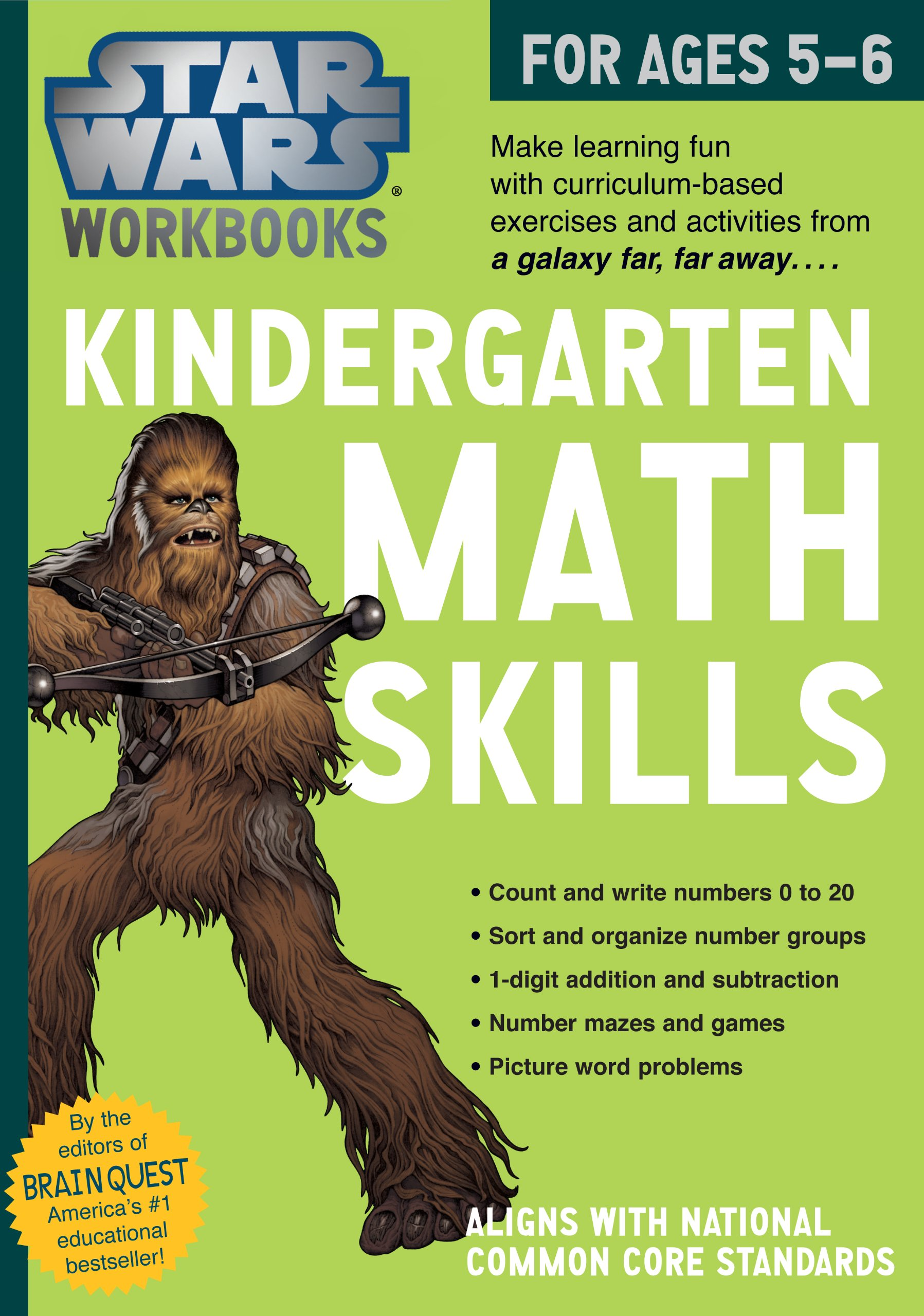 Star Wars Workbooks: Kindergarten Math Skills
