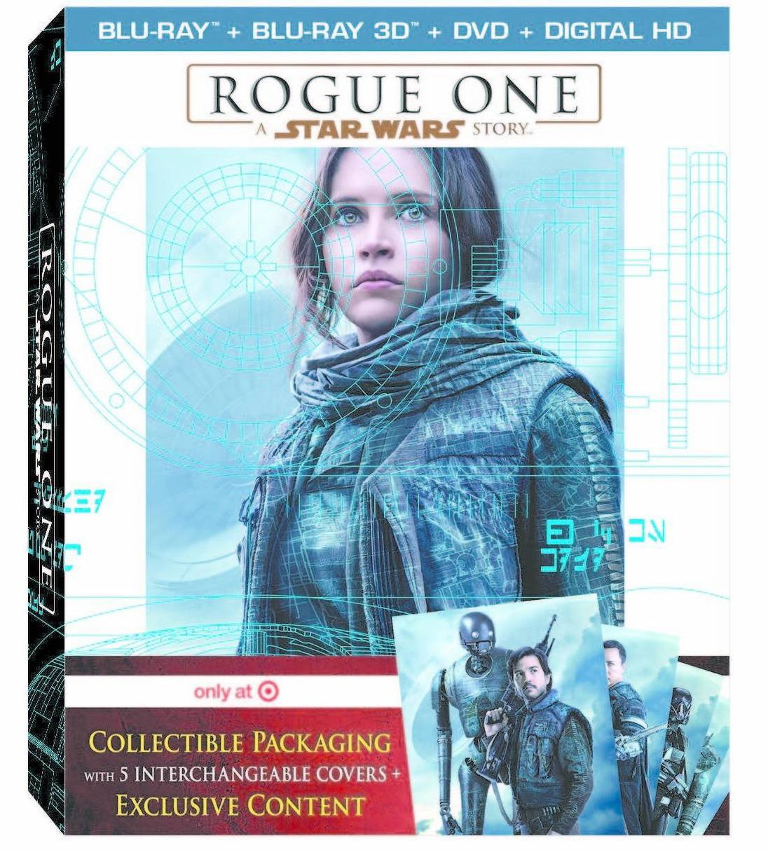 Rogue One: A Star Wars Story (Target Blu-ray)
