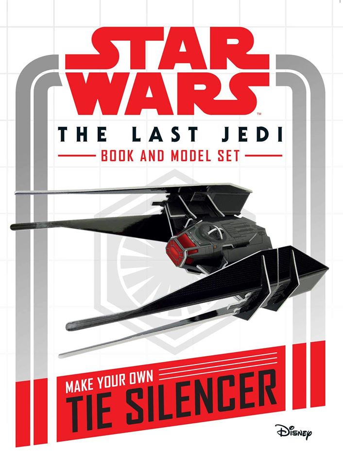 Star Wars The Last Jedi Book and Model: Make Your Own Tie Silencer