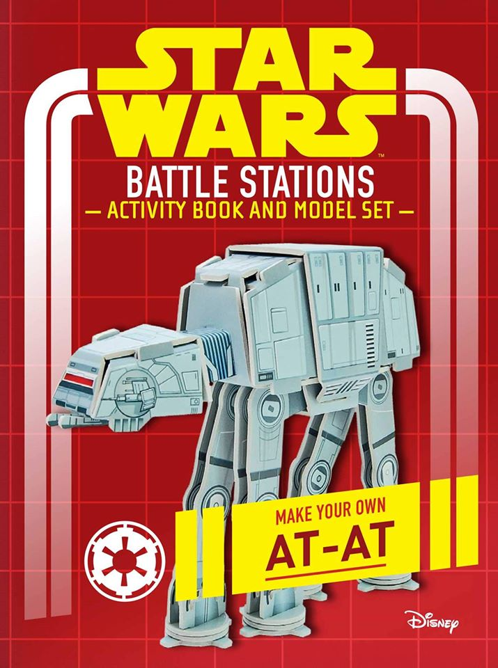 Star Wars: Battle Stations Activity Book and Model: Make Your Own AT-AT (U.S.)