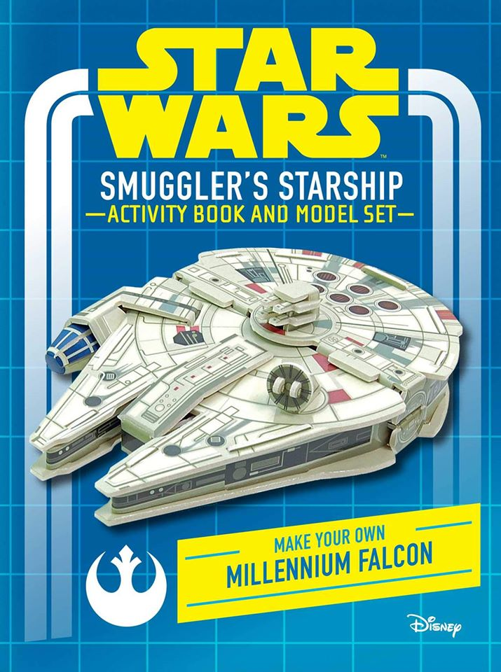 Star Wars: Smuggler's Starship Activity Book and Model (Make Your Own Millennium Falcon)
