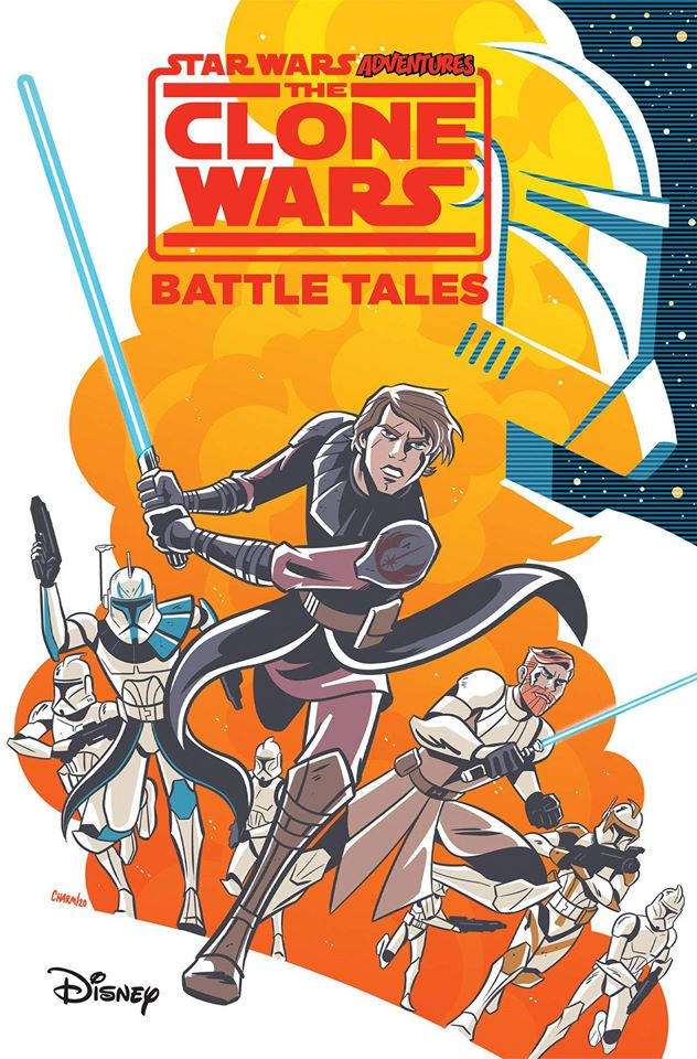 Star Wars Adventures: The Clone Wars Battle Tales