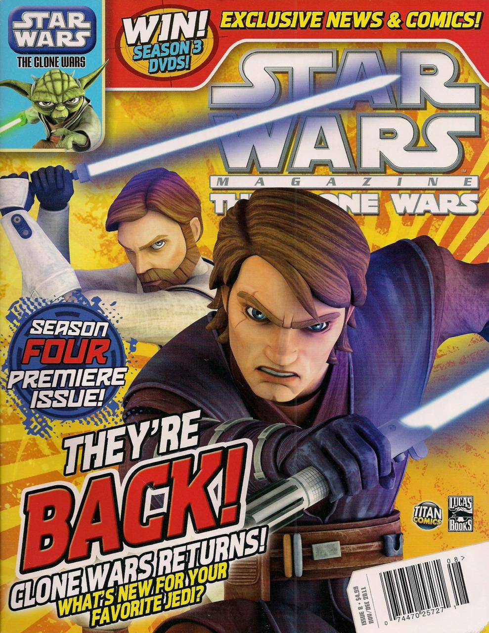Star Wars The Clone Wars Magazine 8
