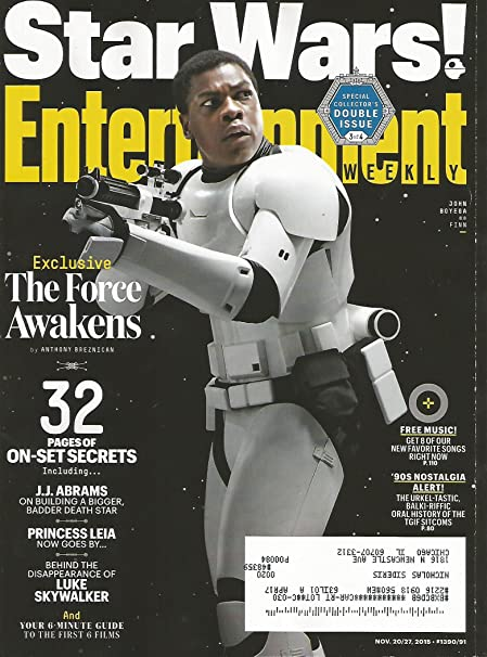 Entertainment Weekly November 27, 2015