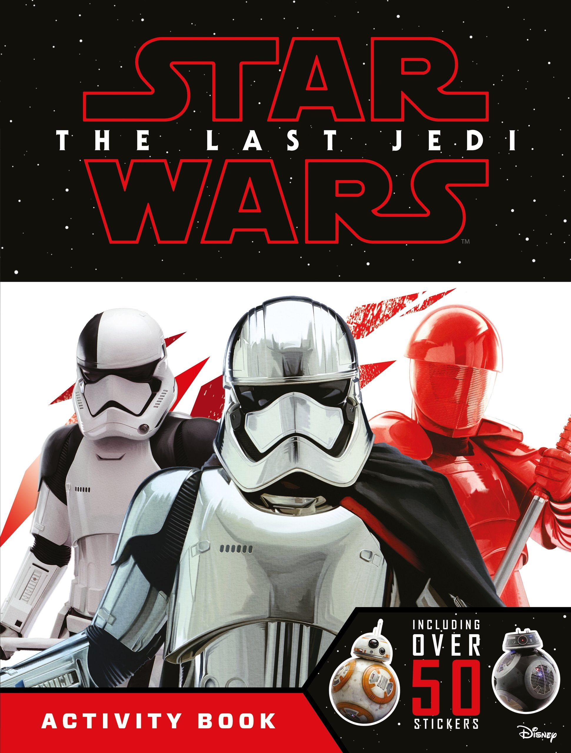 Star Wars: The Last Jedi Activity Book