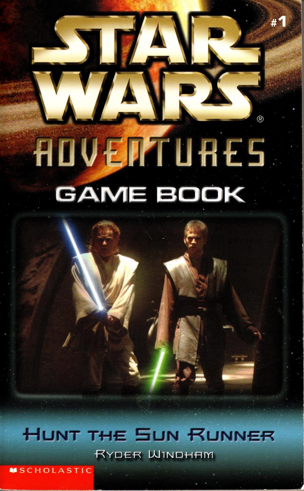Star Wars Adventures Game Book: Hunt the Sun Runner