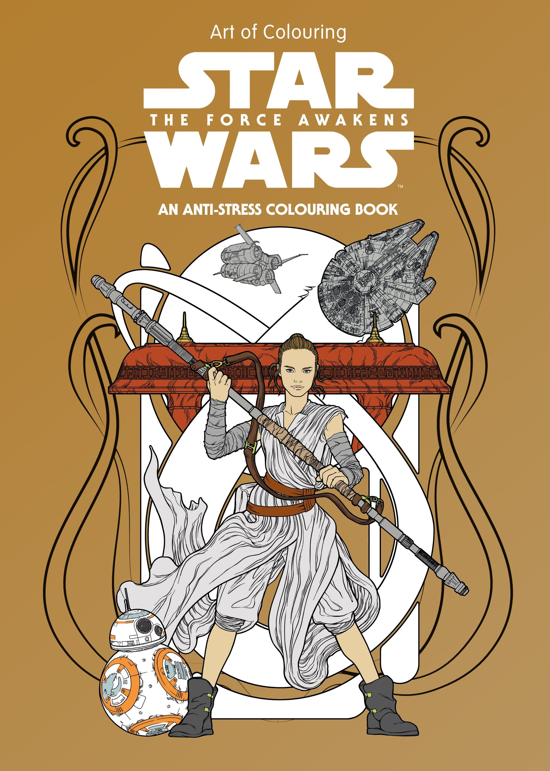 Art of Coloring Star Wars: The Force Awakens