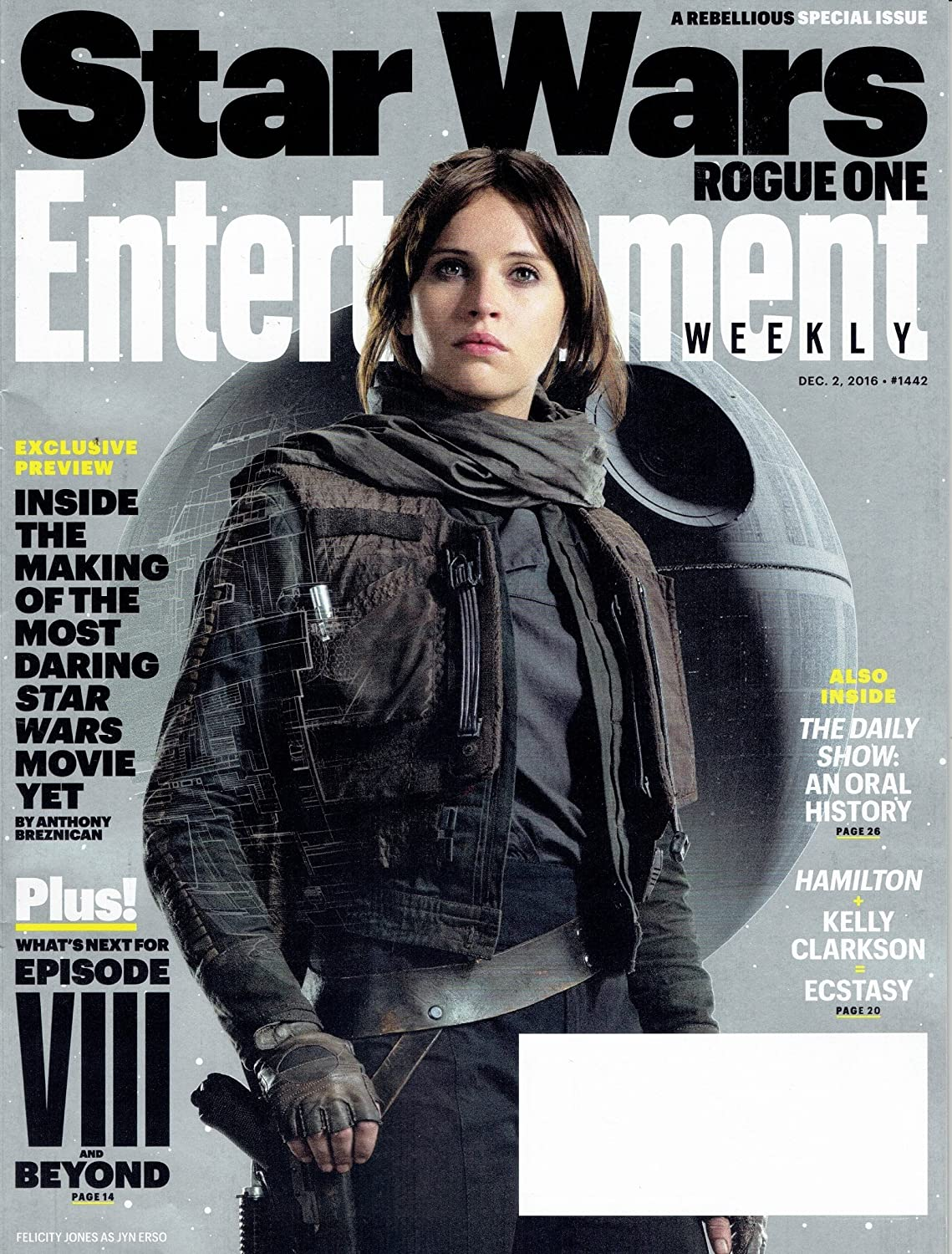 Entertainment Weekly December 2, 2016
