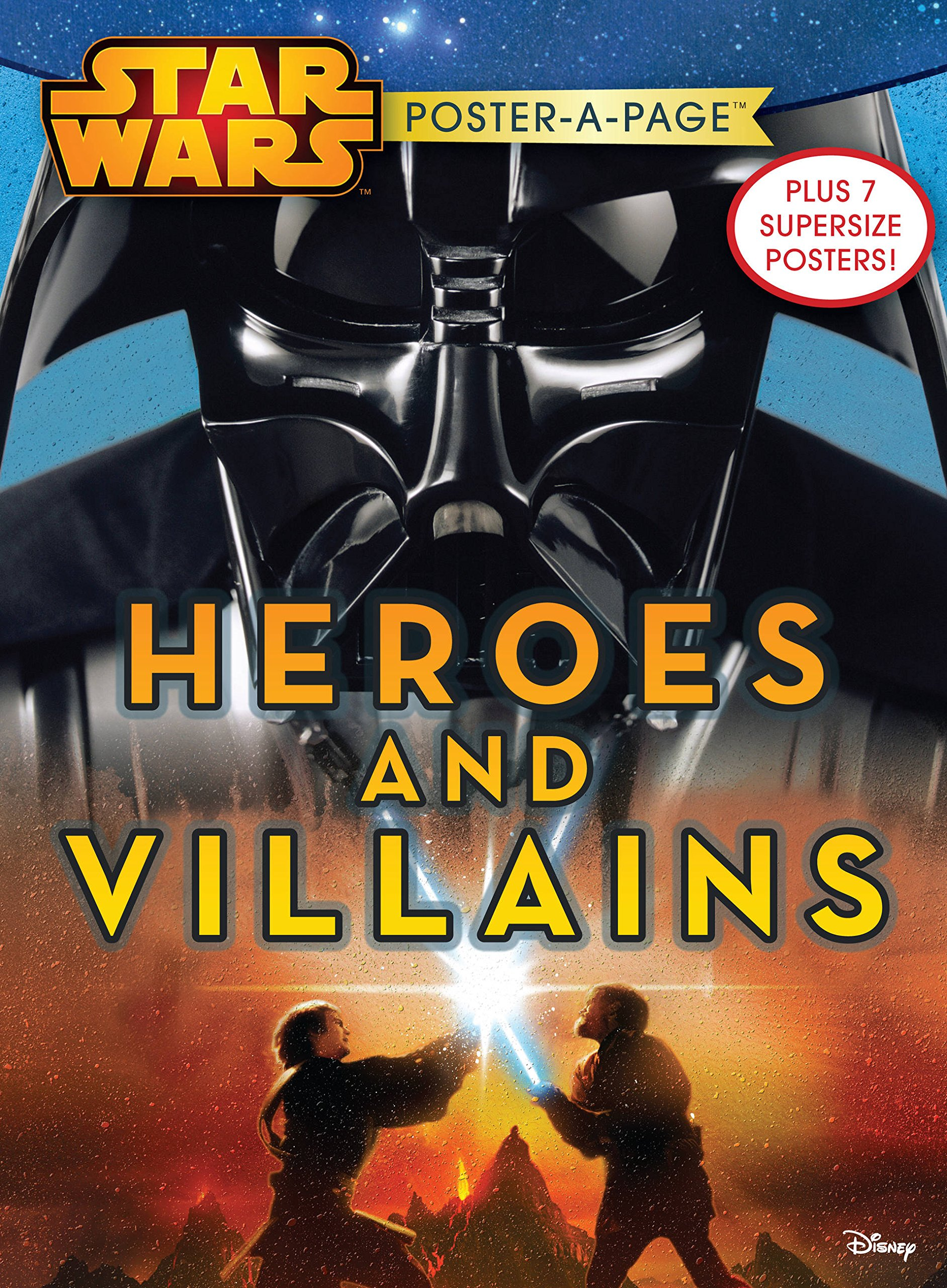 Star Wars Poster-a-Page: Heroes and Villains