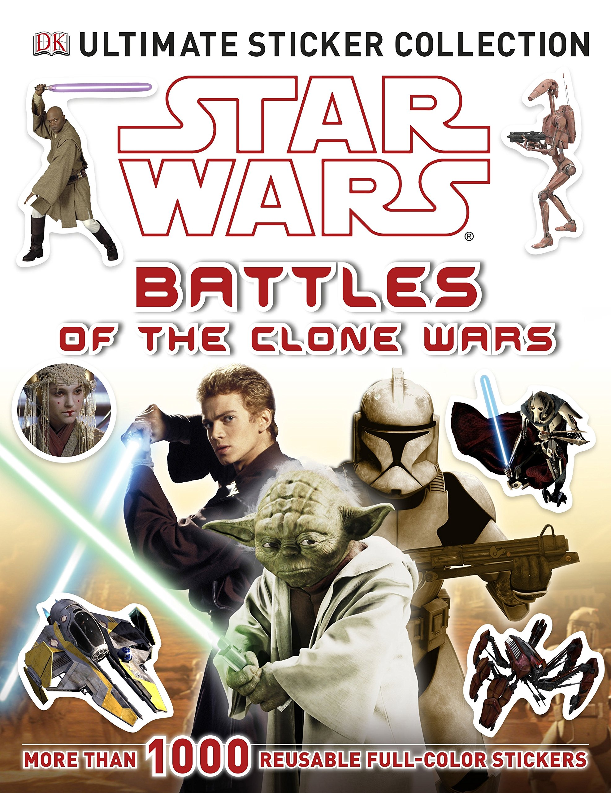 Star Wars: Battles of the Clone Wars Ultimate Sticker Collection