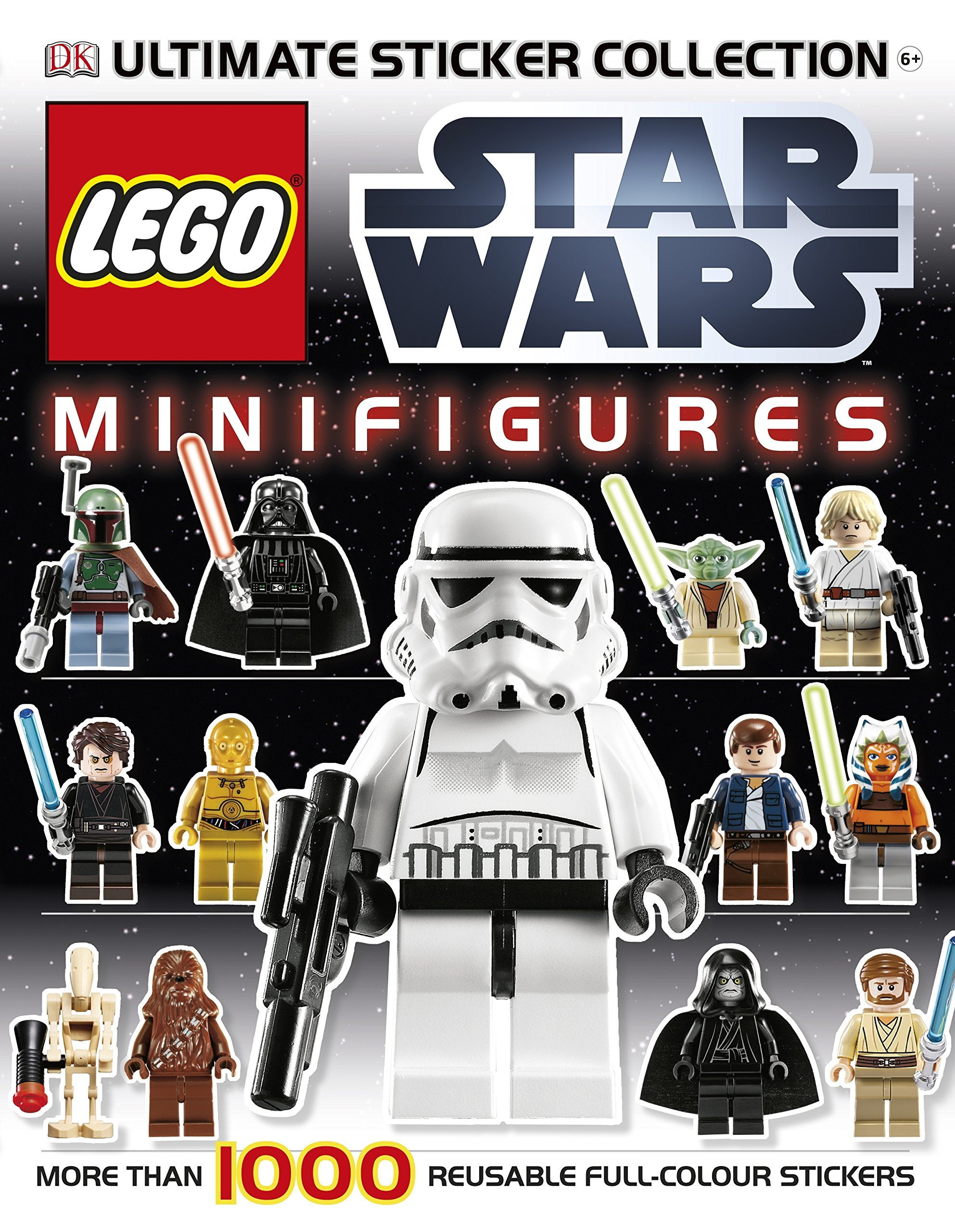 Lego Star Wars Minifigures Ultmate Sticker Collection