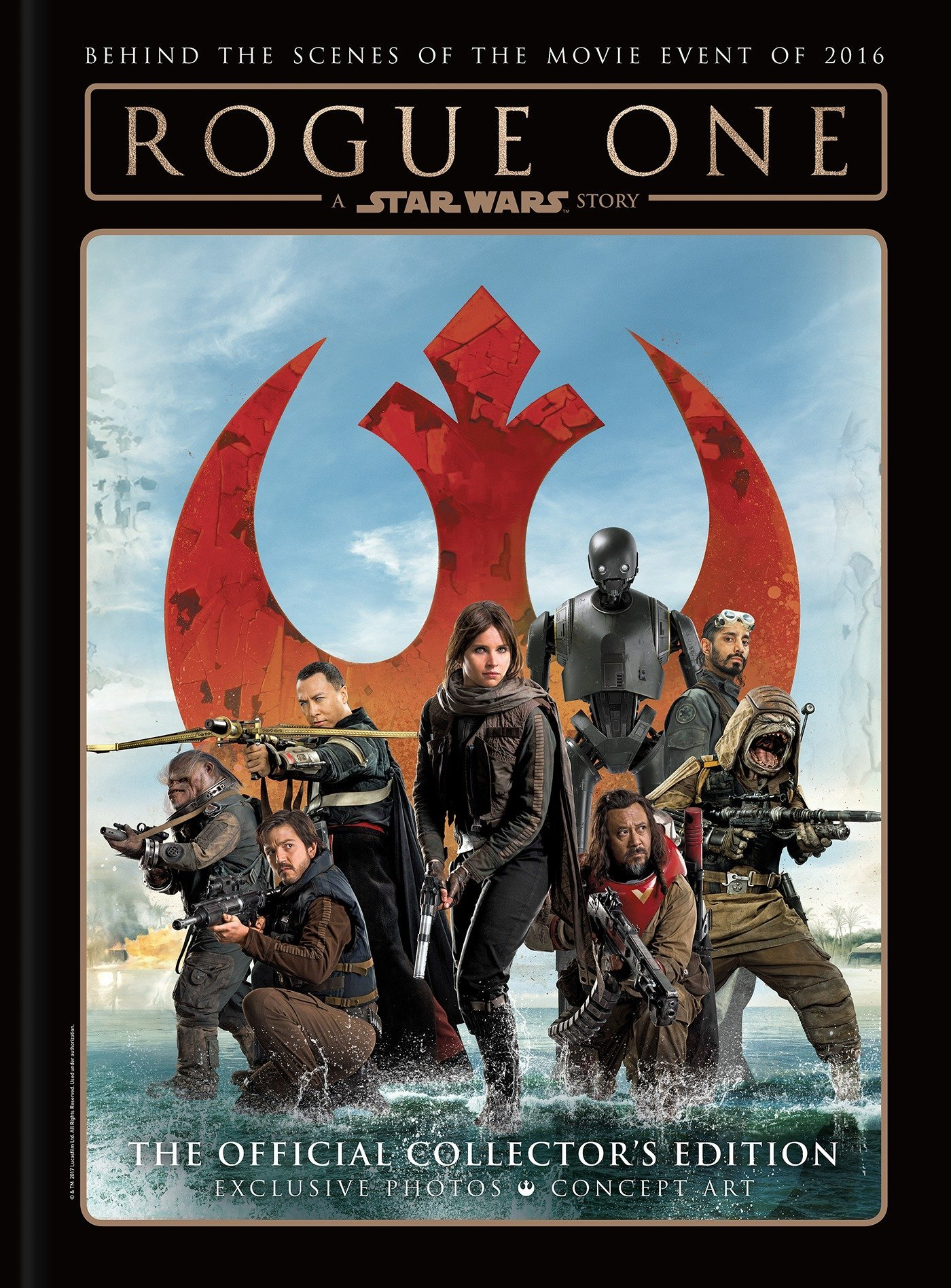 Rogue One: A Star Wars Story Official Collector's Edition (Hardcover)