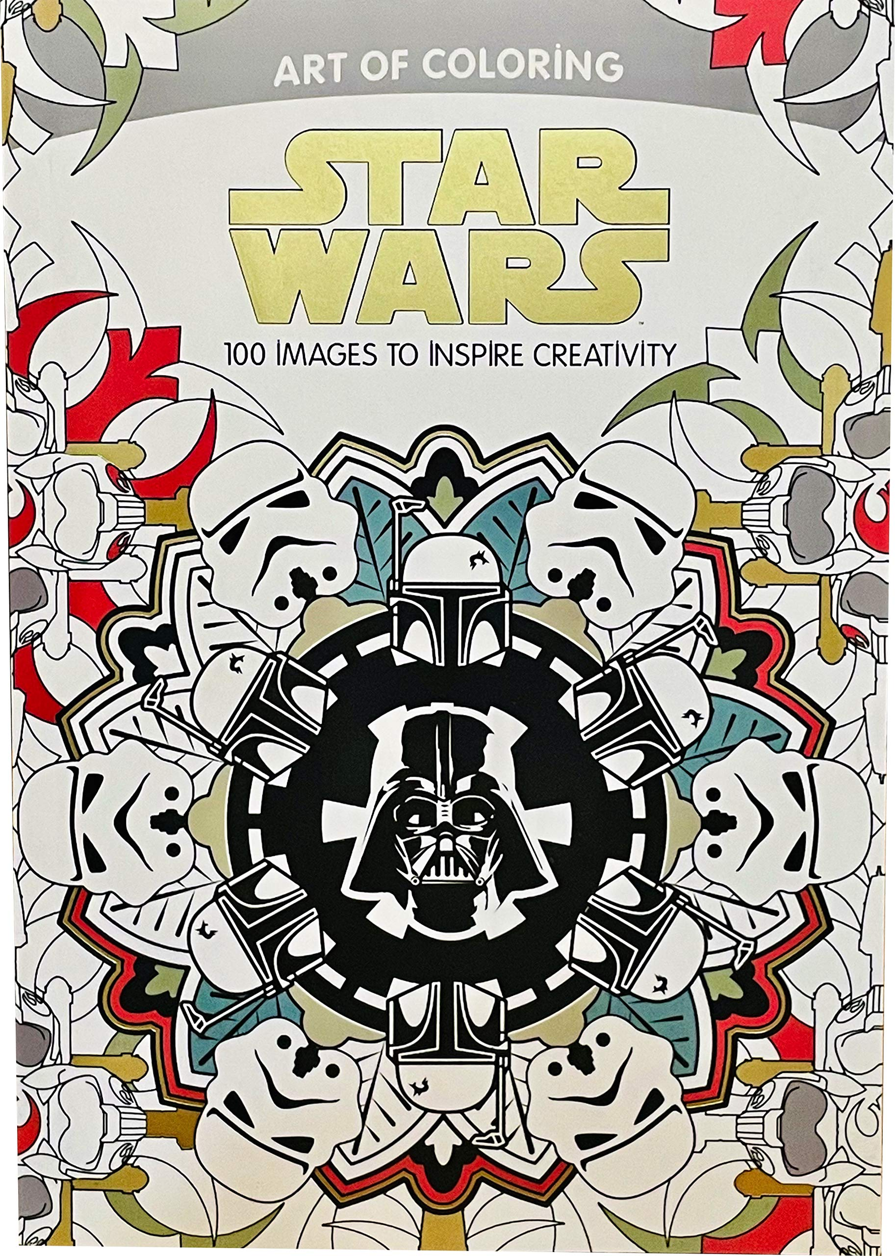 Star Wars Art of Coloring: 100 Images to Inspire Creativity