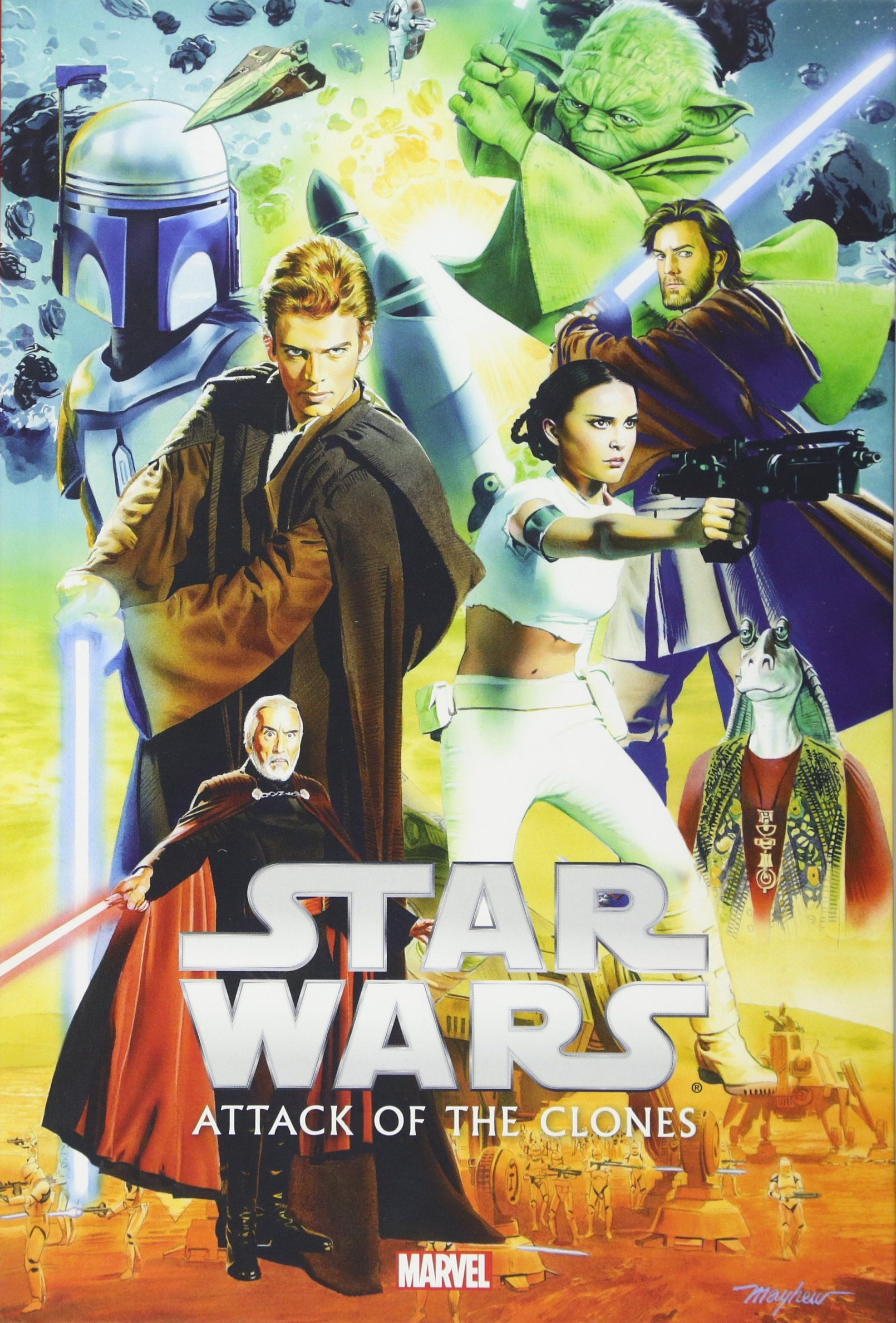 Star Wars Episode II: Attack of the Clones (Marvel Hardcover Edition)