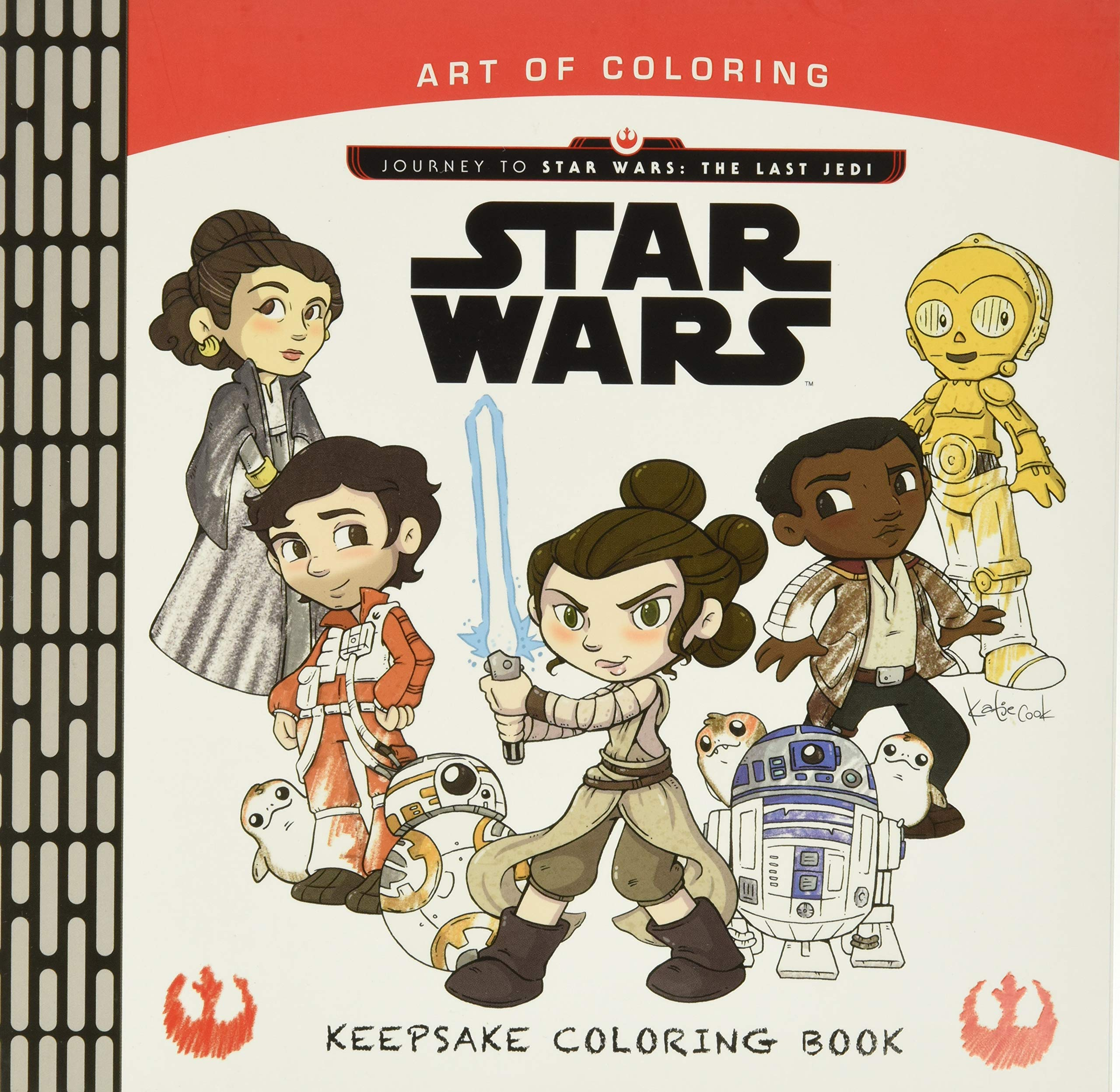 Star Wars Art of Coloring - Keepsake Coloring Book