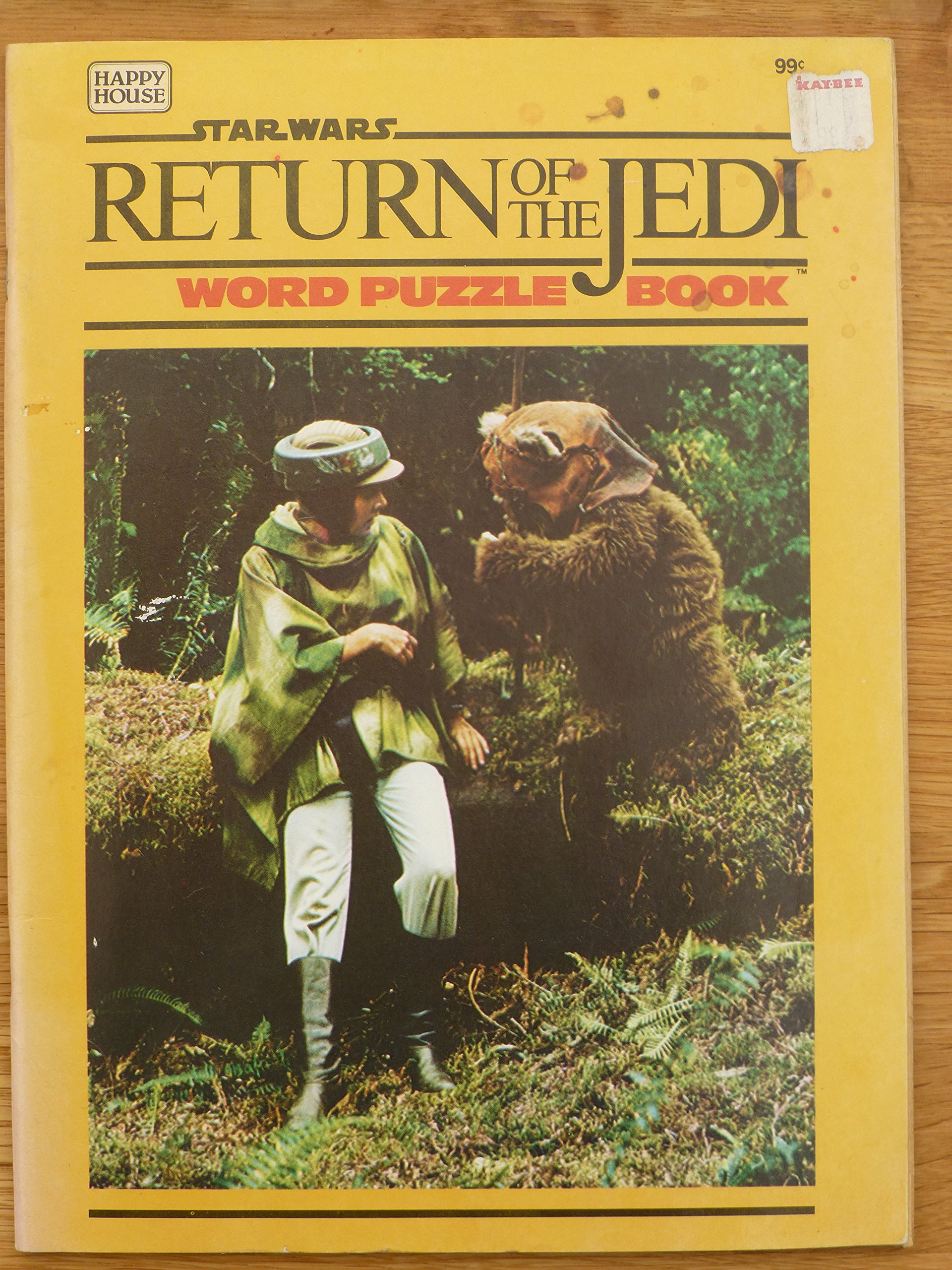 Star Wars Return of the Jedi: Word Puzzle Book
