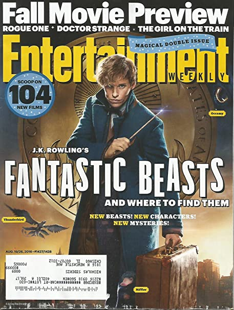 Entertainment Weekly August 19, 2016