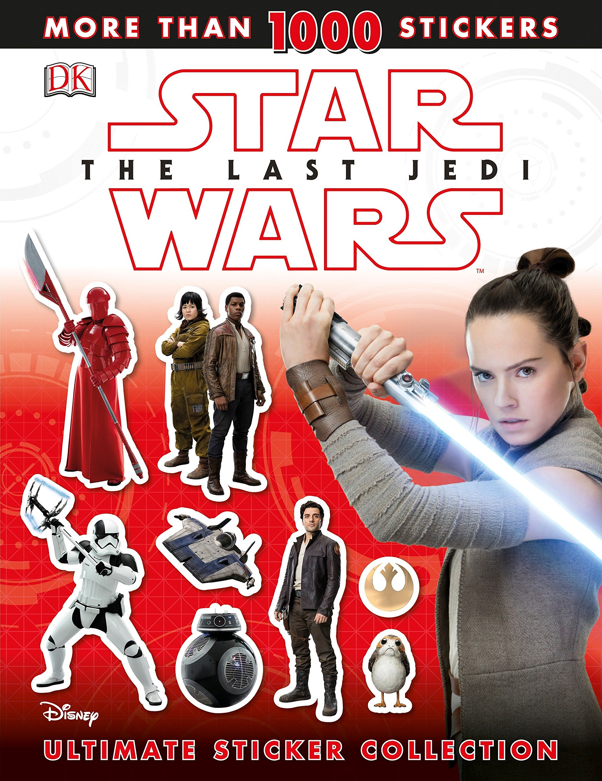 Star Wars The Last Jedi: Ultimate Sticker Collection
