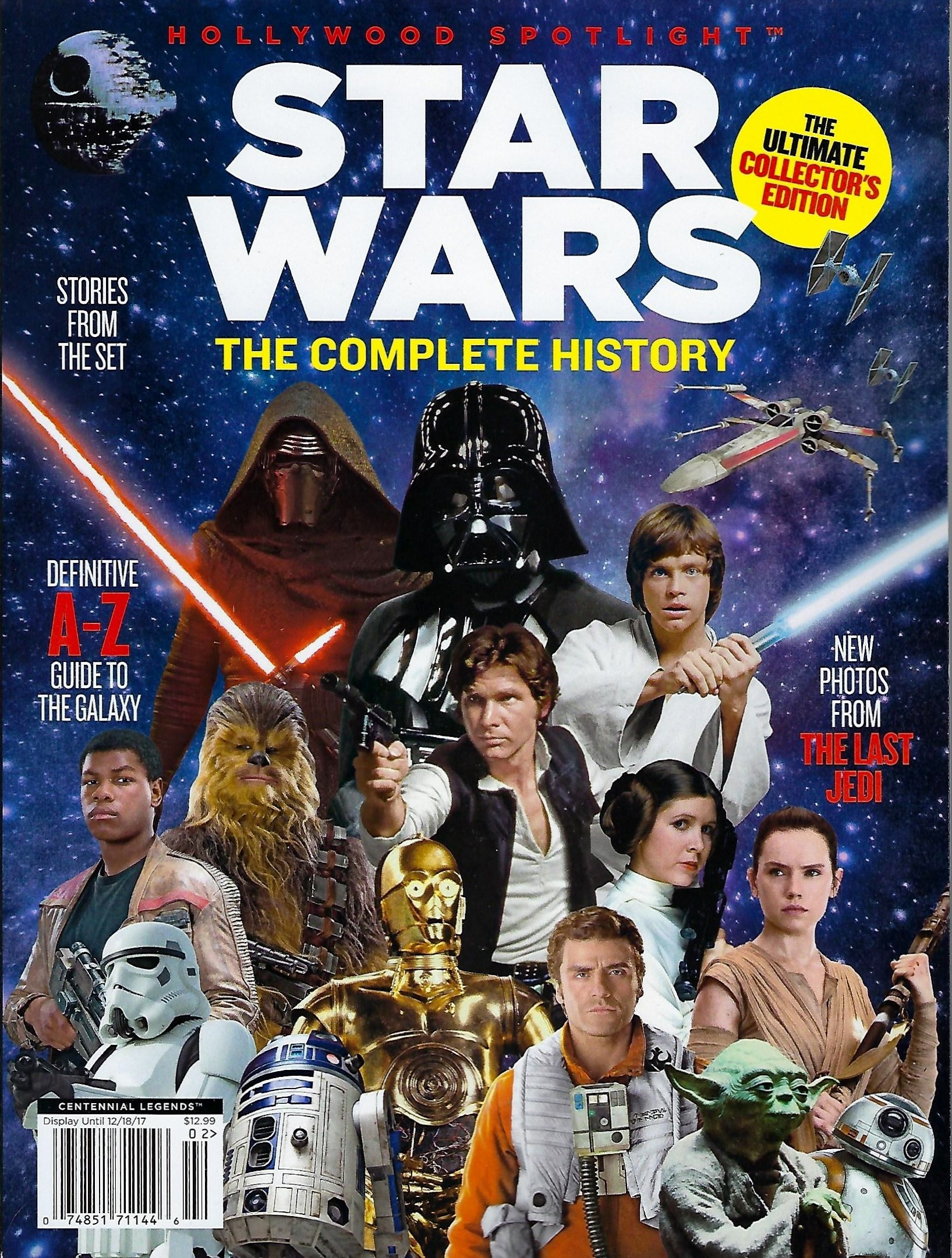 Hollywood Spotlight Presents Star Wars: The Complete History