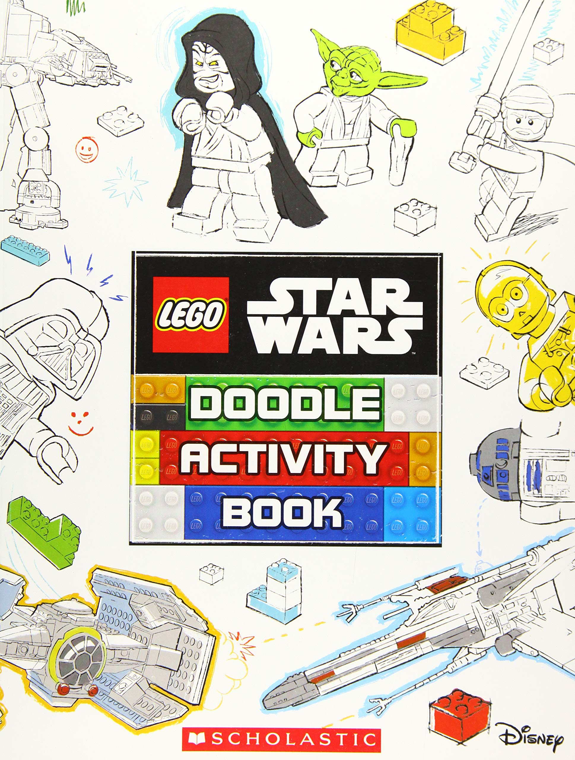 Lego Star Wars: Doodle Activity Book