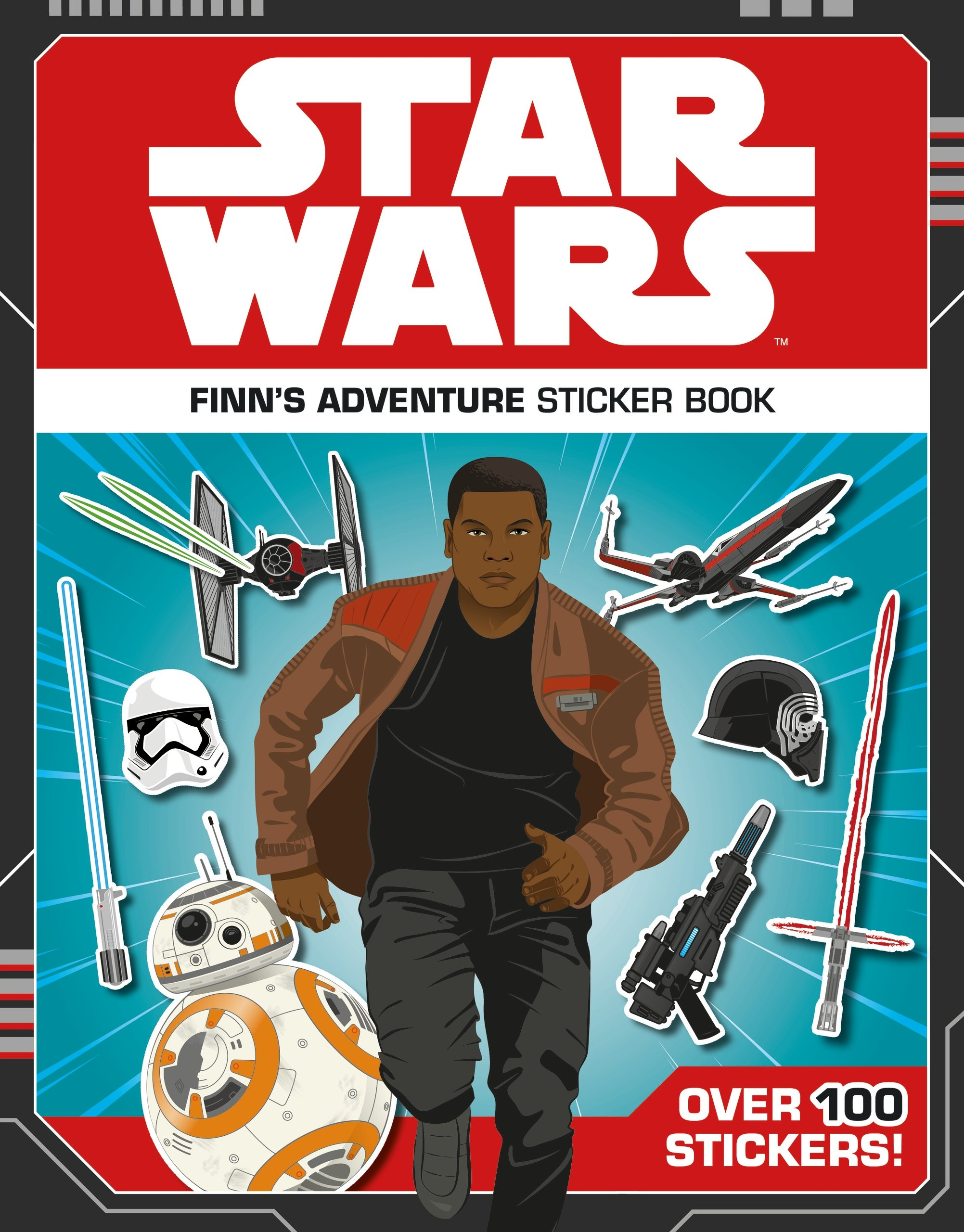 Star Wars: Finn's Adventure Sticker Book