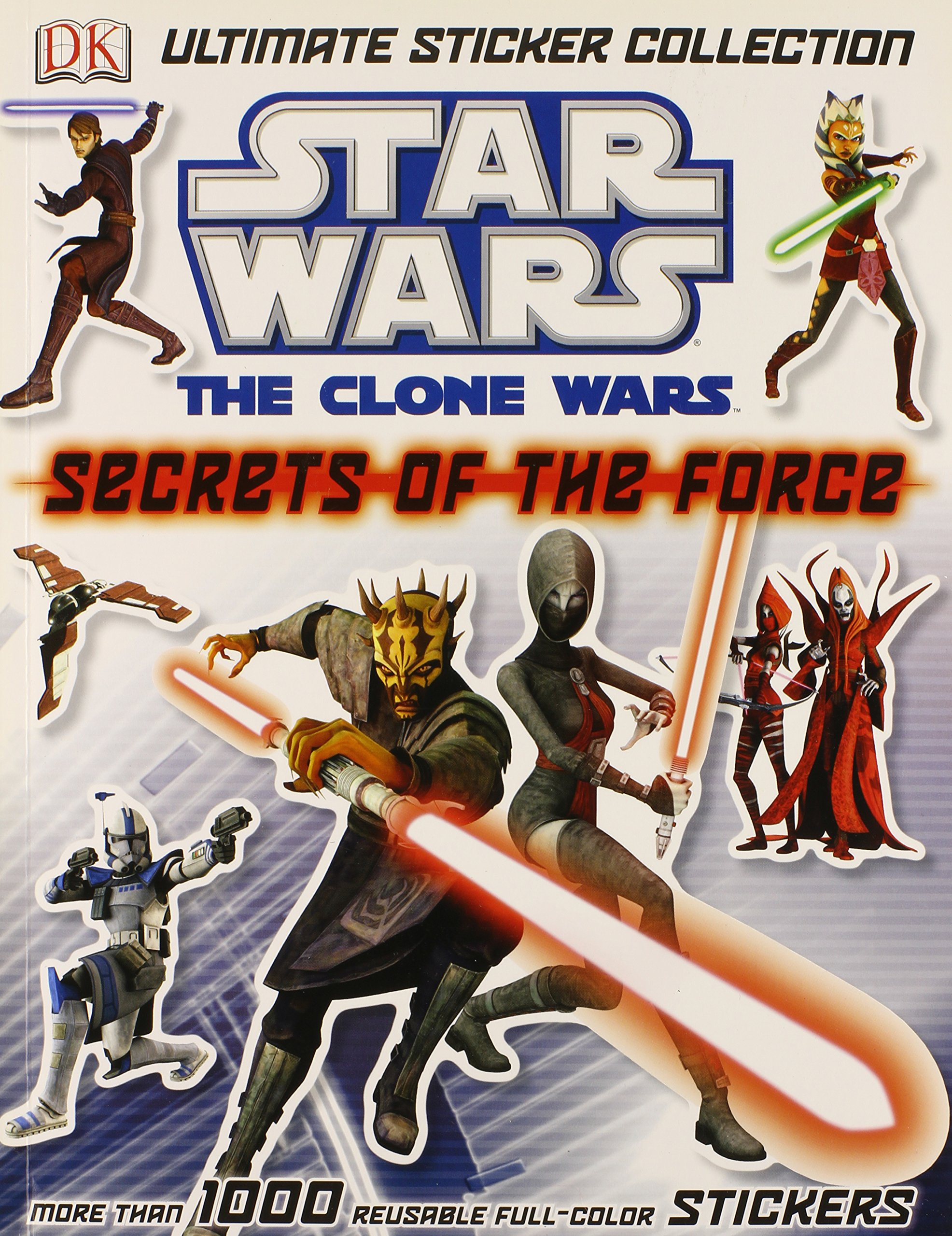 Star Wars The Clone Wars: Secrets of the Force Ultimate Sticker Collection