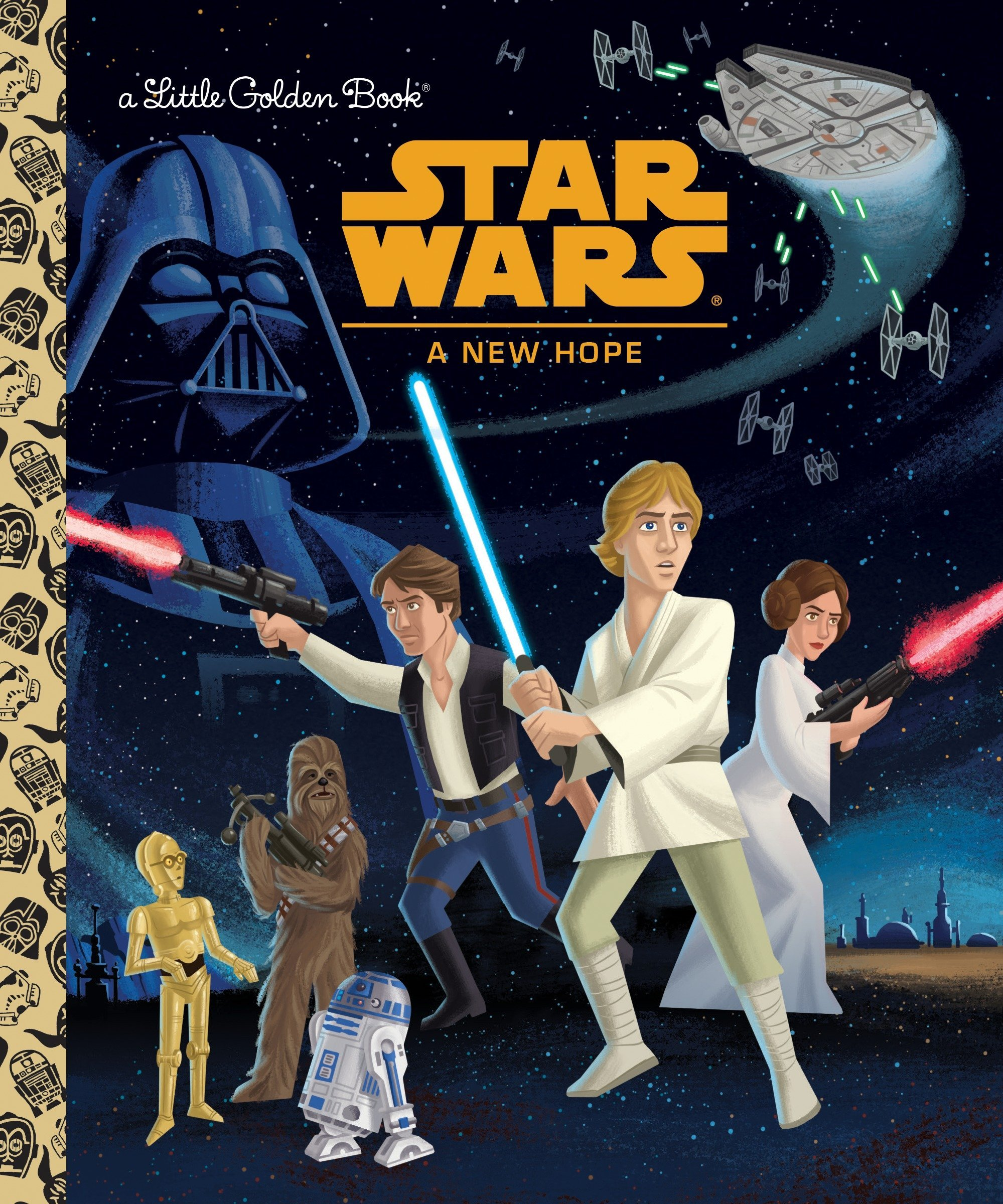 Star Wars: A New Hope  (Little Golden Book)