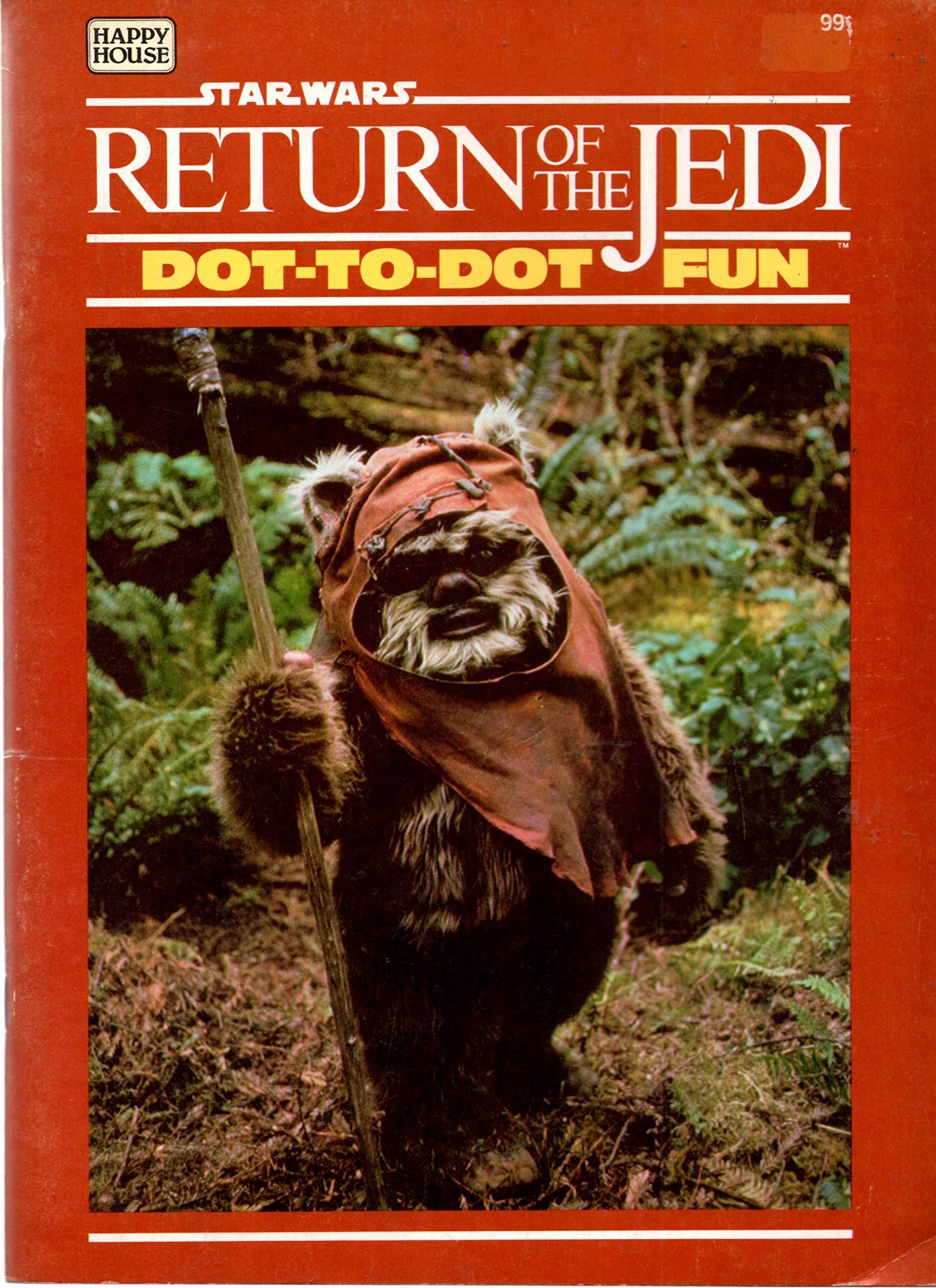 Star Wars Return of the Jedi: Dot-to-Dot Fun