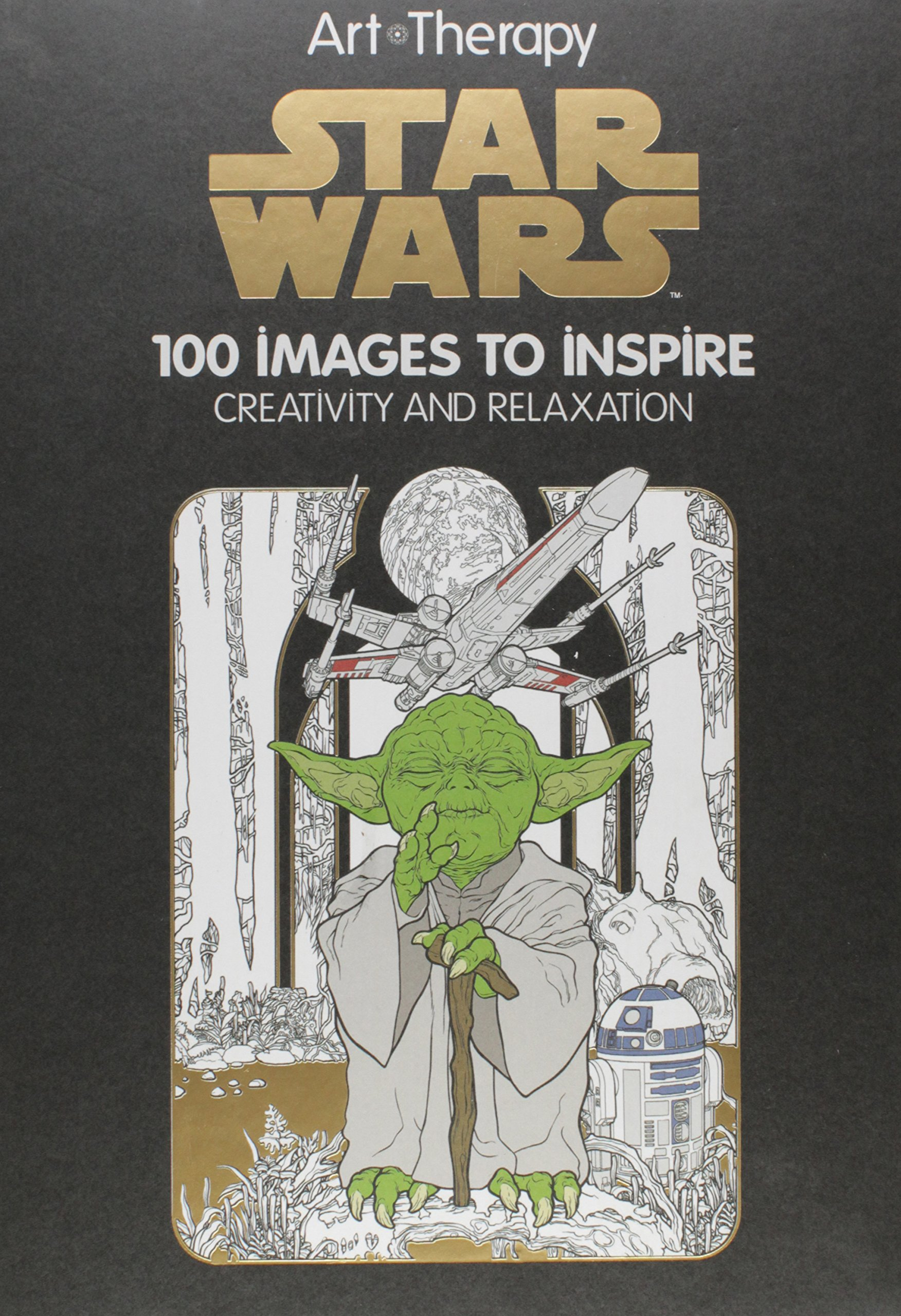 Star Wars Art Therapy: 100 Images to Inspire Creativity and Relaxation