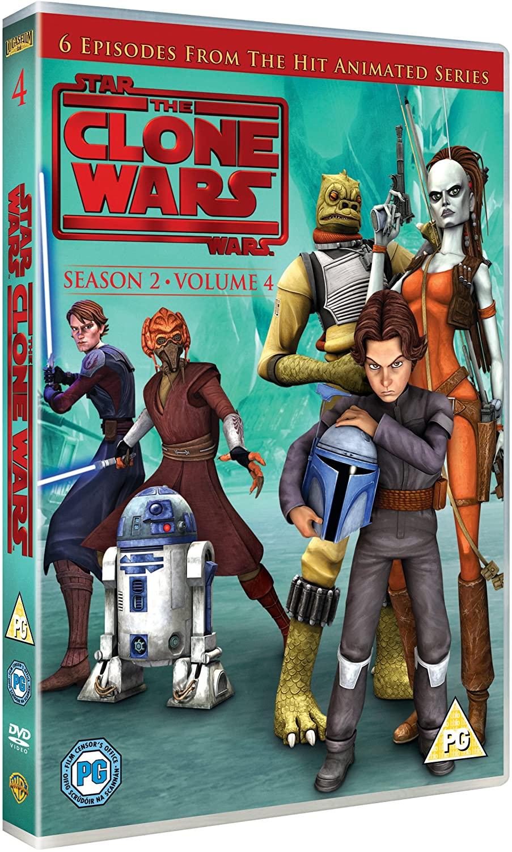 Star Wars: The Clone Wars Season 2 Volume 4