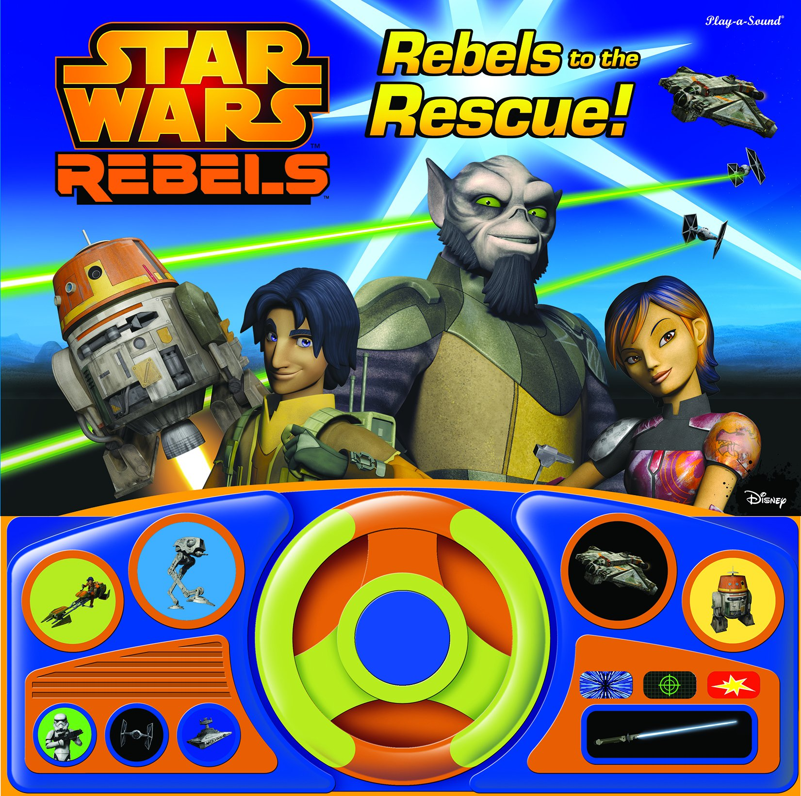 Star Wars Rebels: Rebels to the Rescue