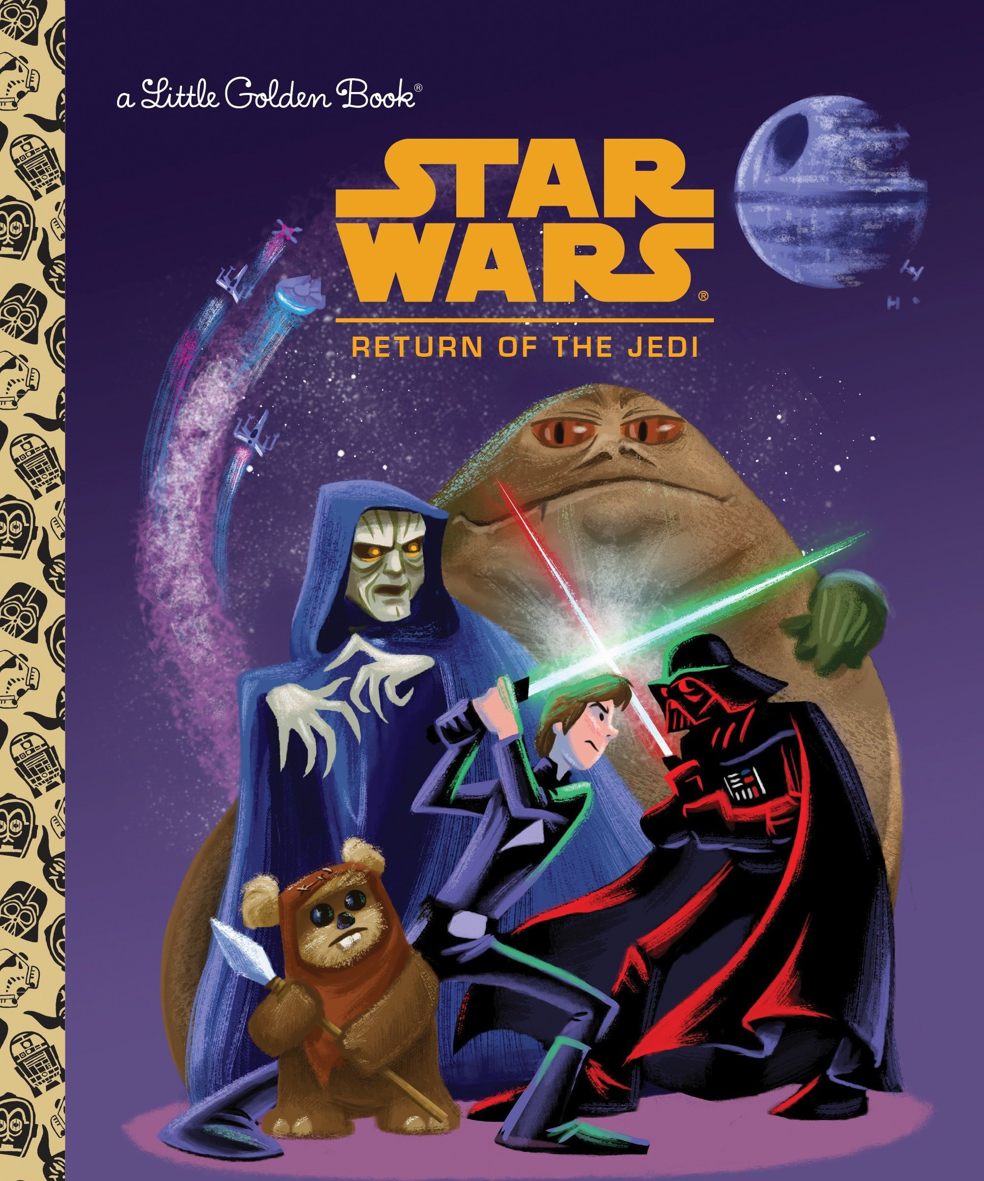 Star Wars: Return of the Jedi  (Little Golden Book)