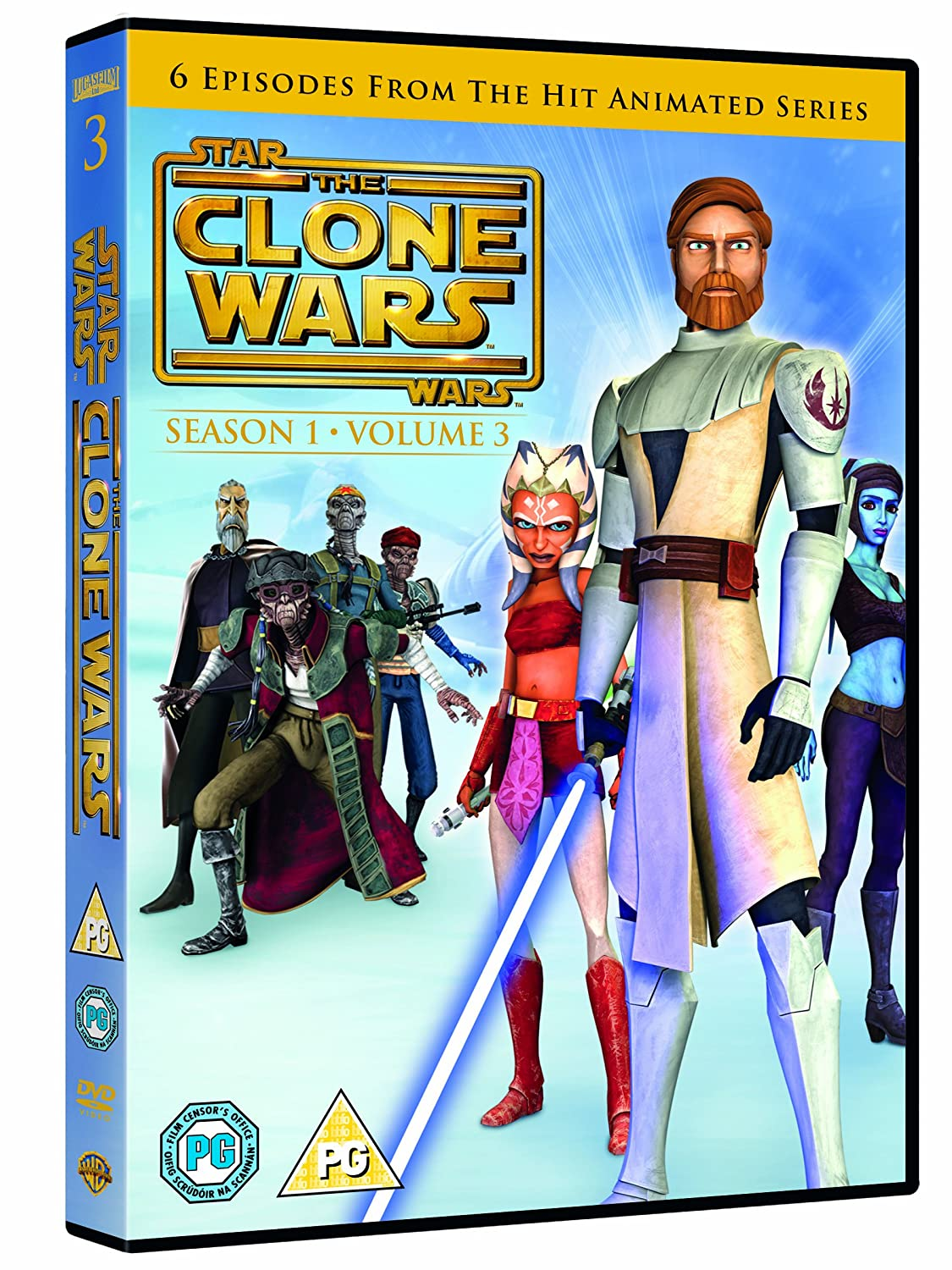 Star Wars: The Clone Wars Season 1 Volume 3