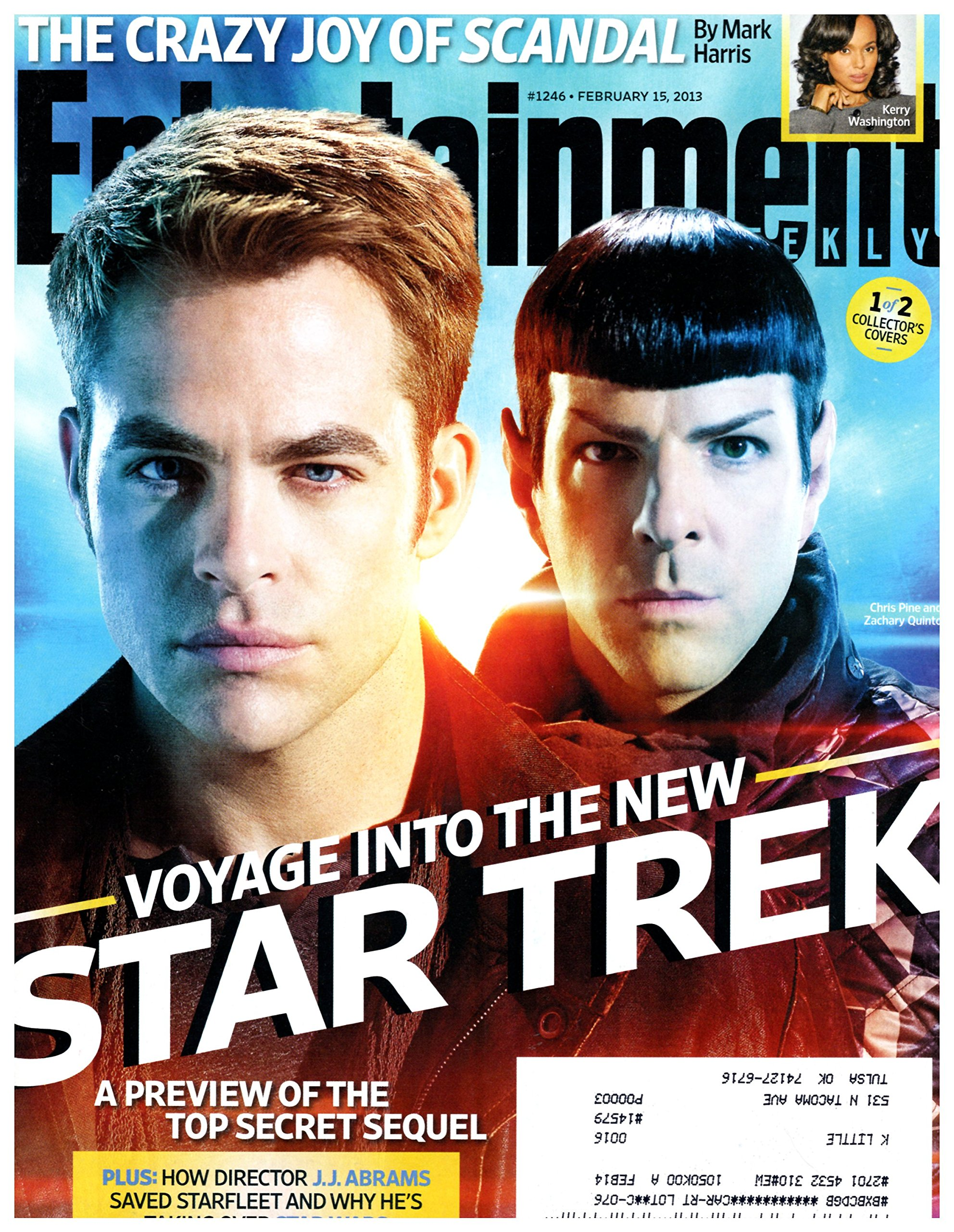 Entertainment Weekly February 15, 2013
