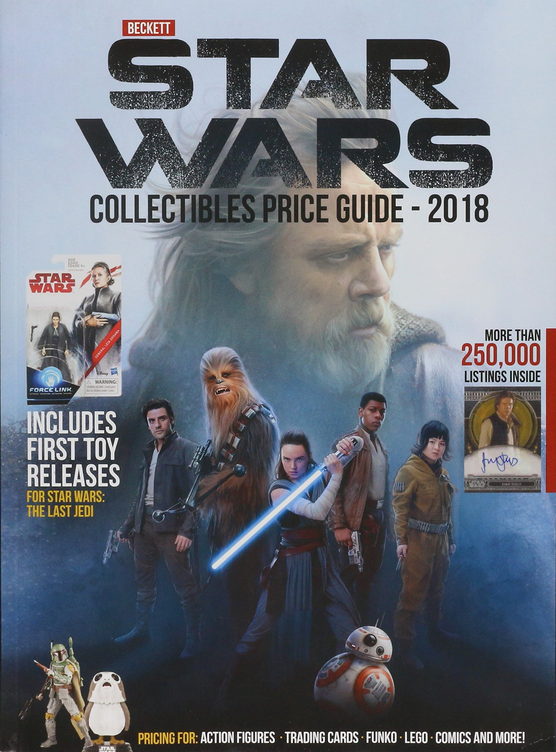 Beckett's Star Wars Collectibles Price Guide 2018
