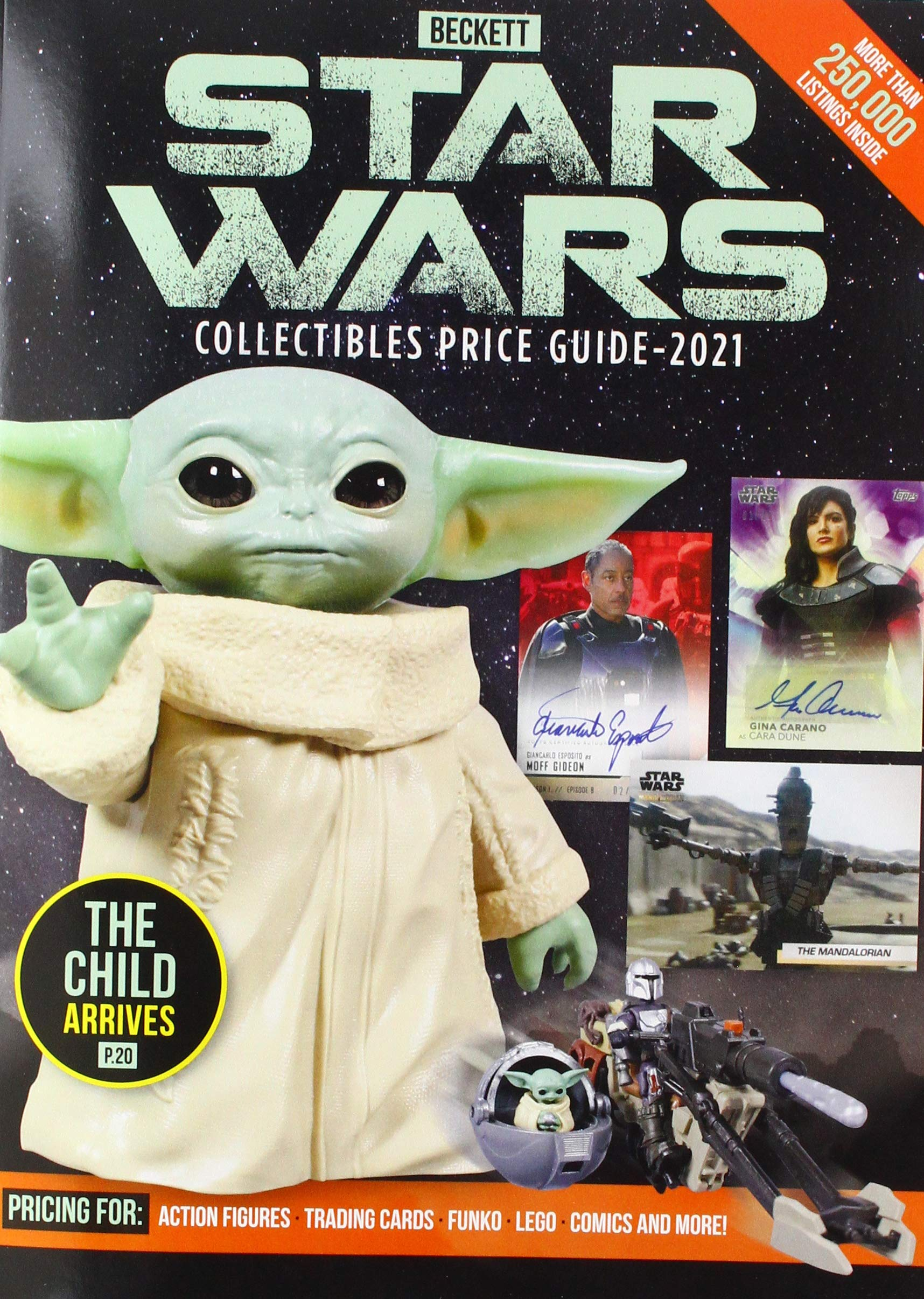 Beckett's Star Wars Collectibles Price Guide 2021
