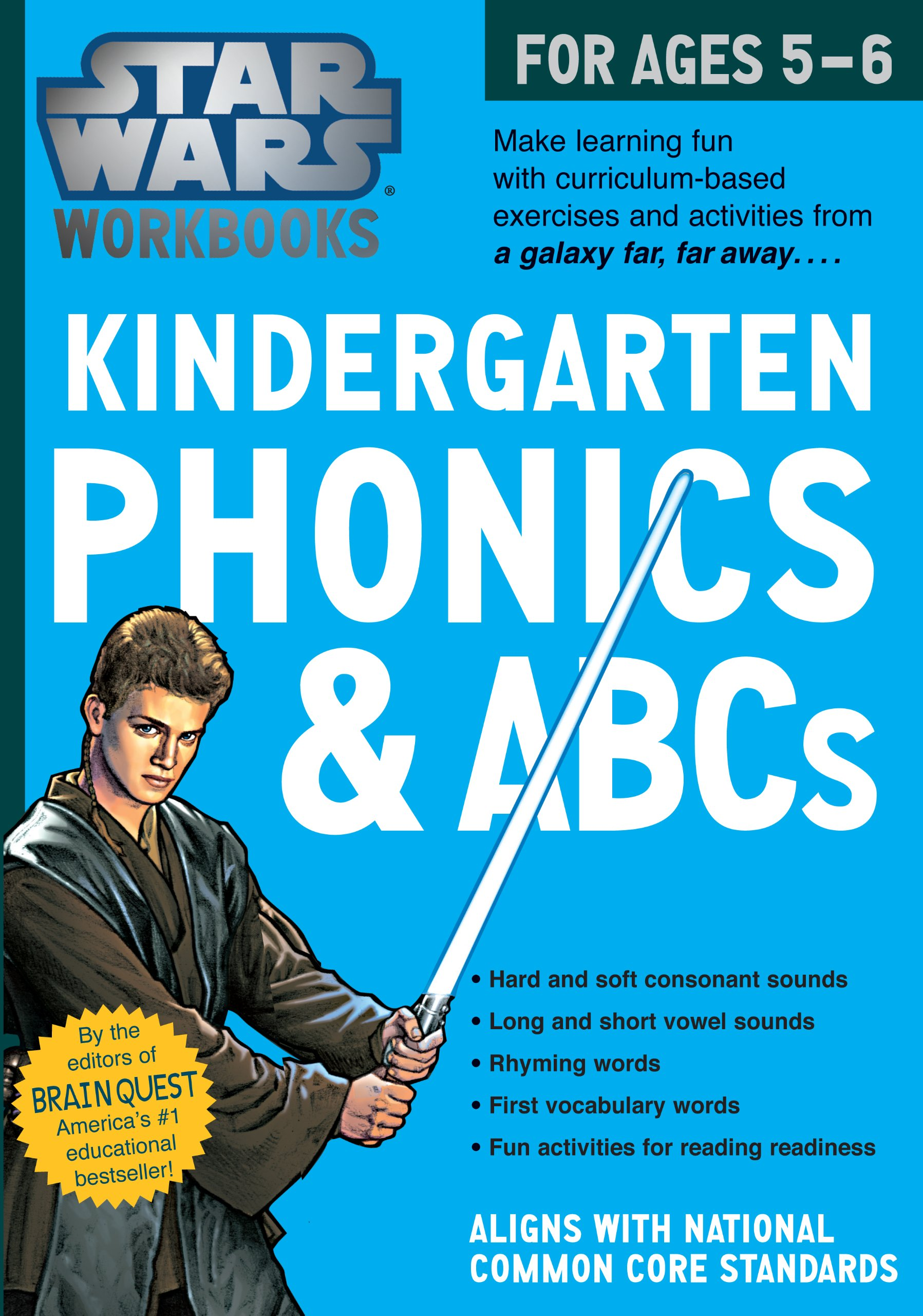 Star Wars Workbooks: Kindergarten Phonics and ABCs