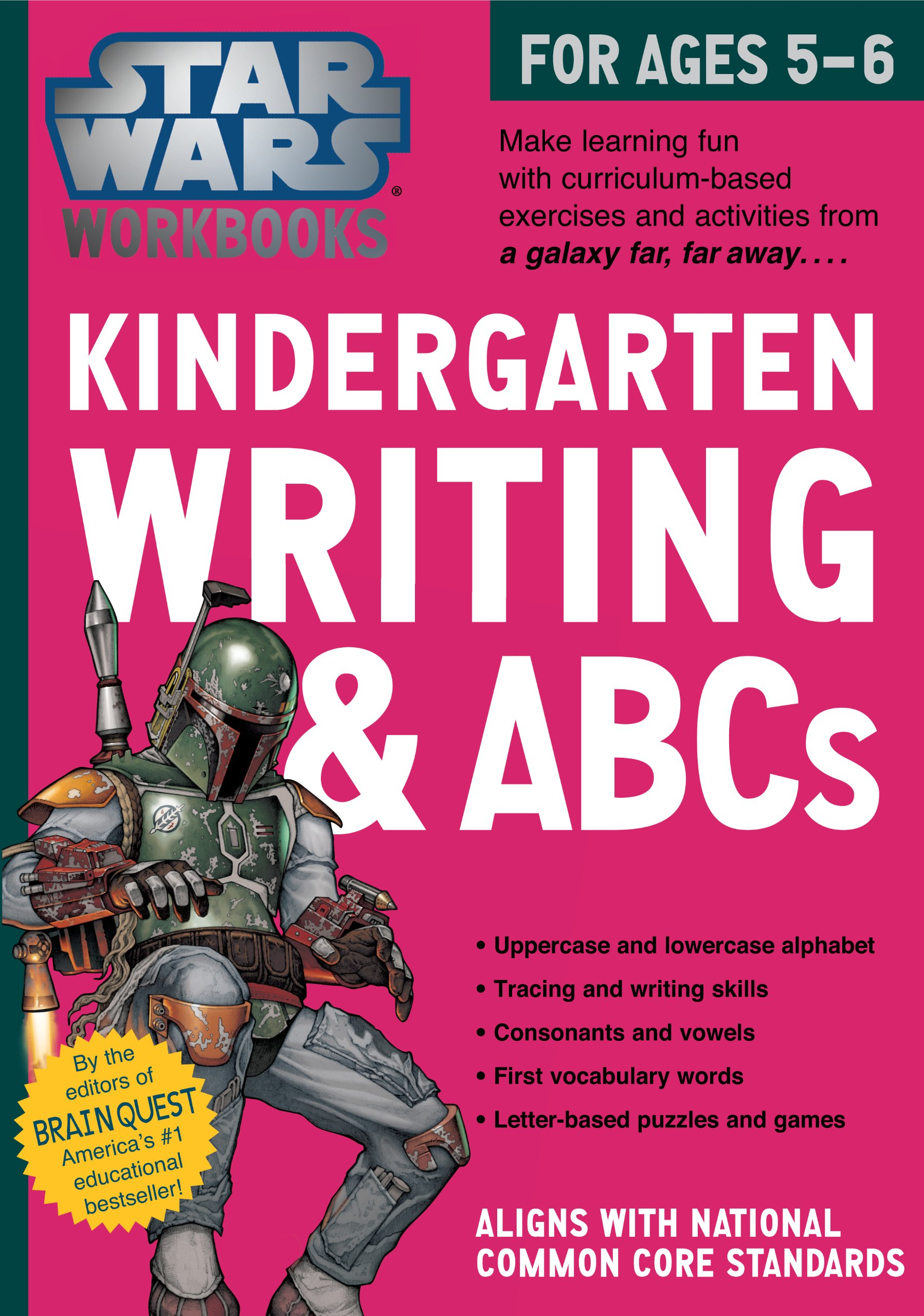 Star Wars Workbooks: Kindergarten Writing and ABCs