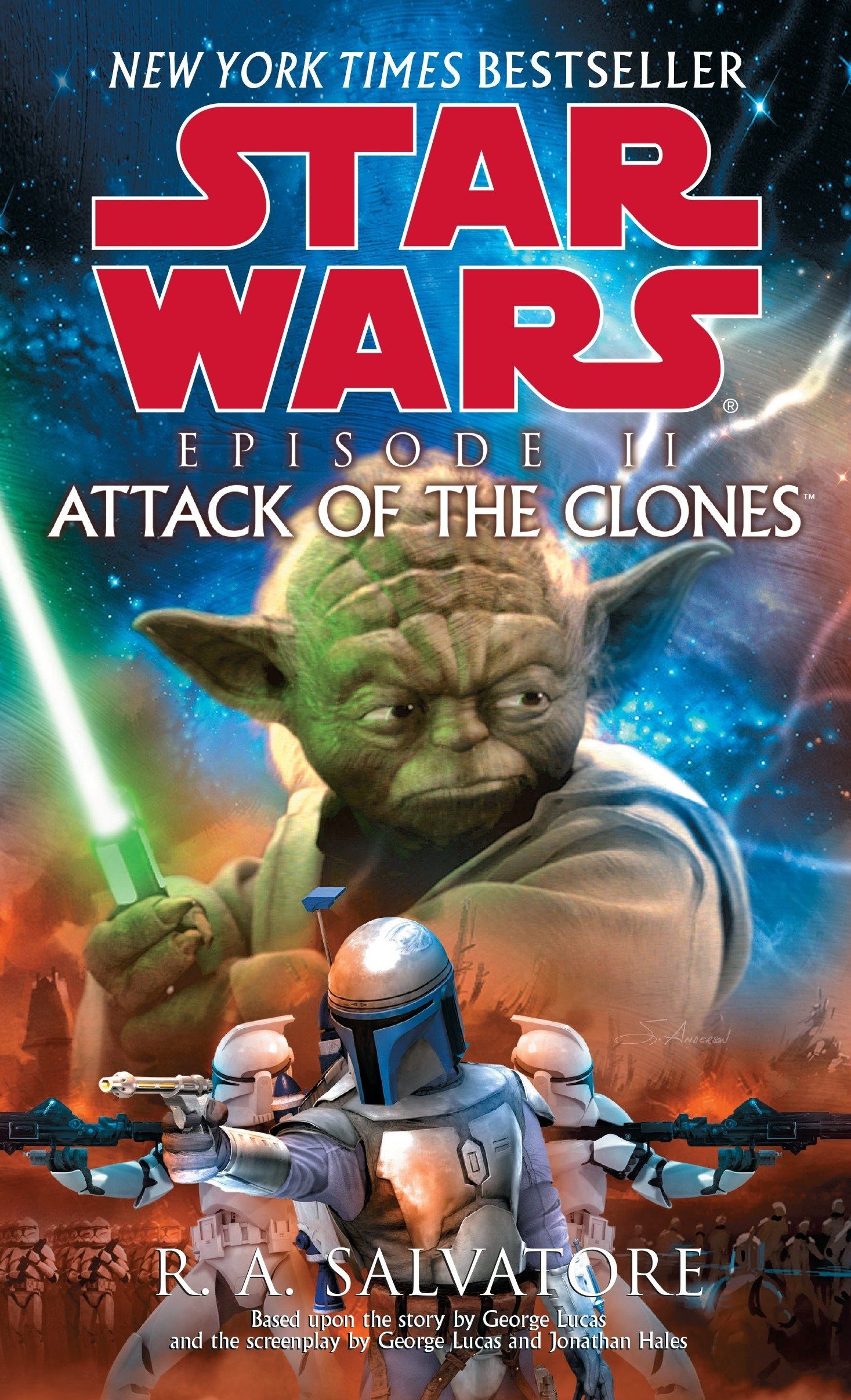 Star Wars Episode II: Attack of the Clones (paperback)