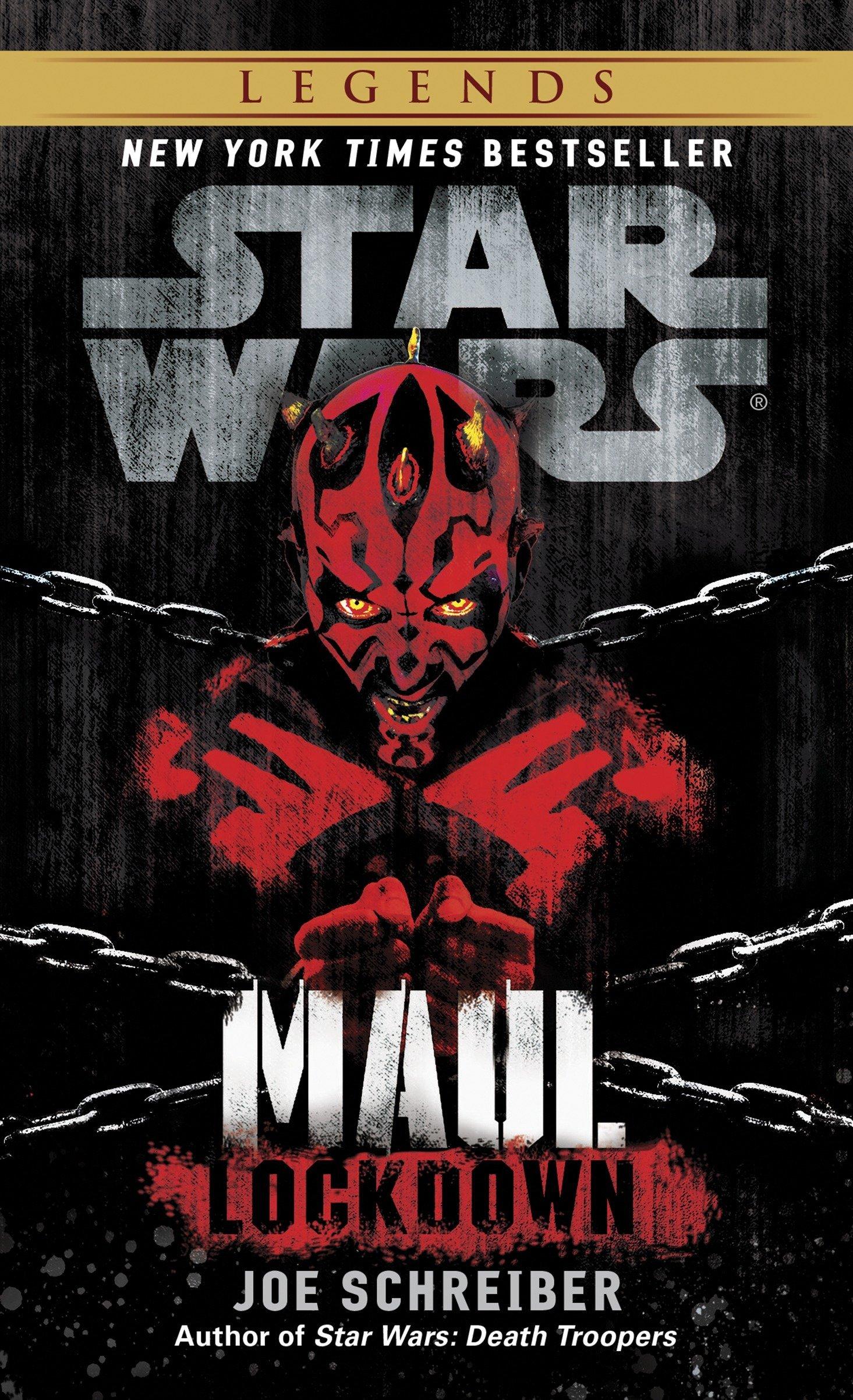 Star Wars Maul: Lockdown (paperback)