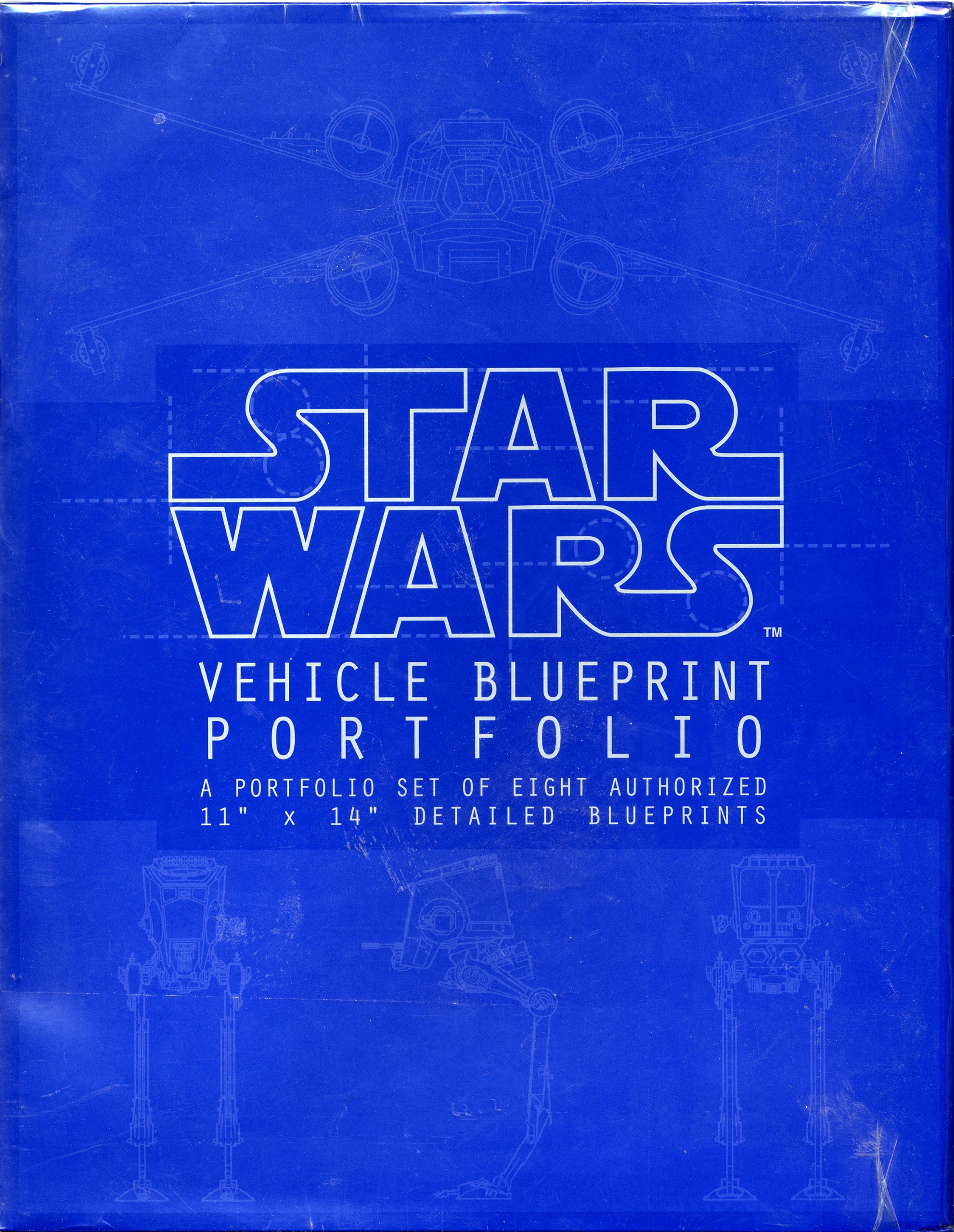 Star Wars Vehicle Blueprint Portfolio