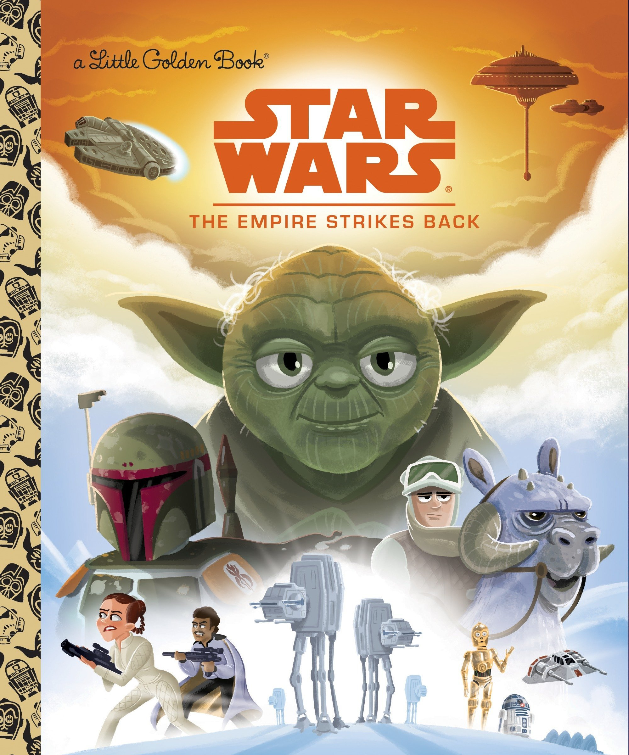 Star Wars: The Empire Strikes Back  (Little Golden Book)