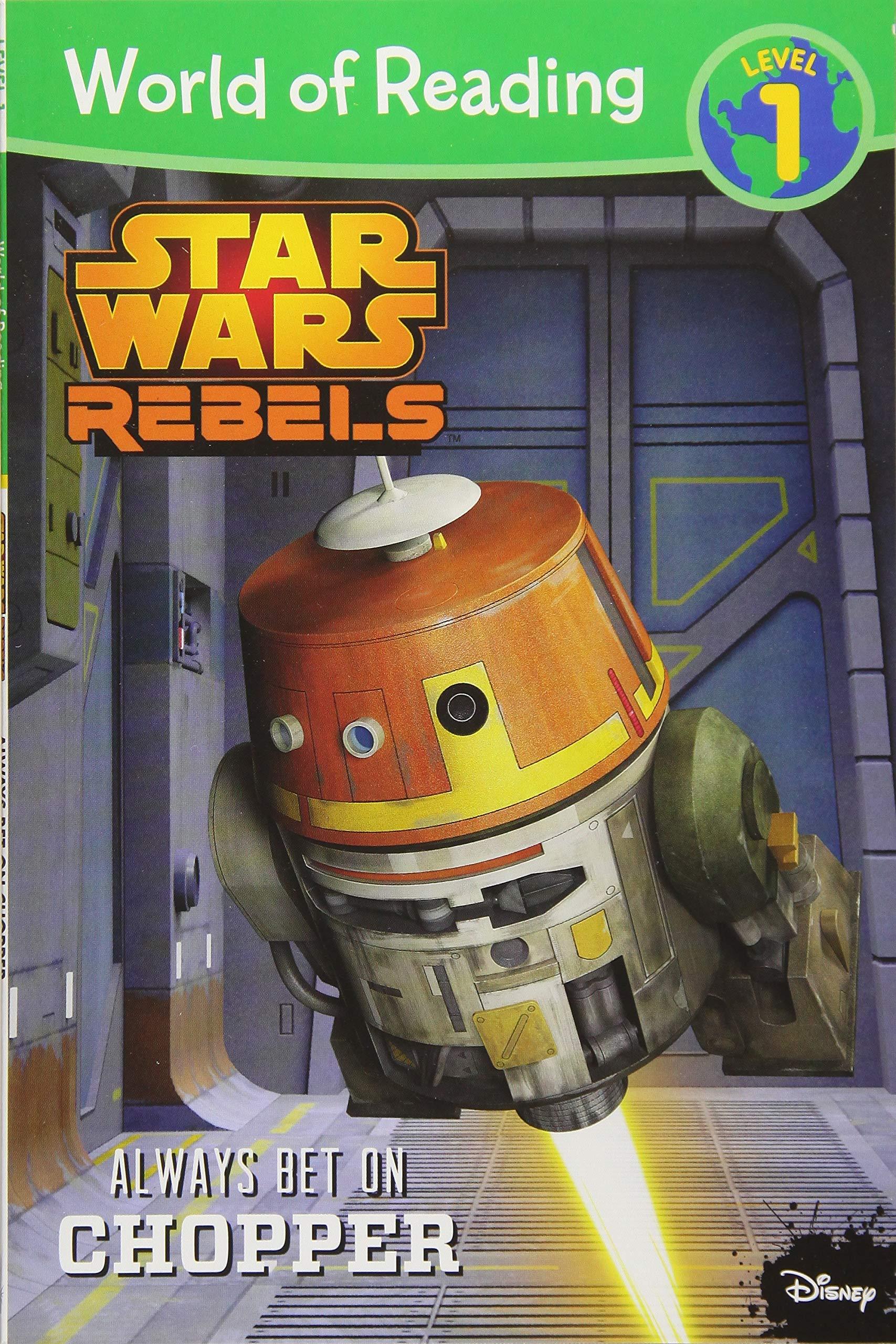 Star Wars Rebels: Always Bet on Chopper
