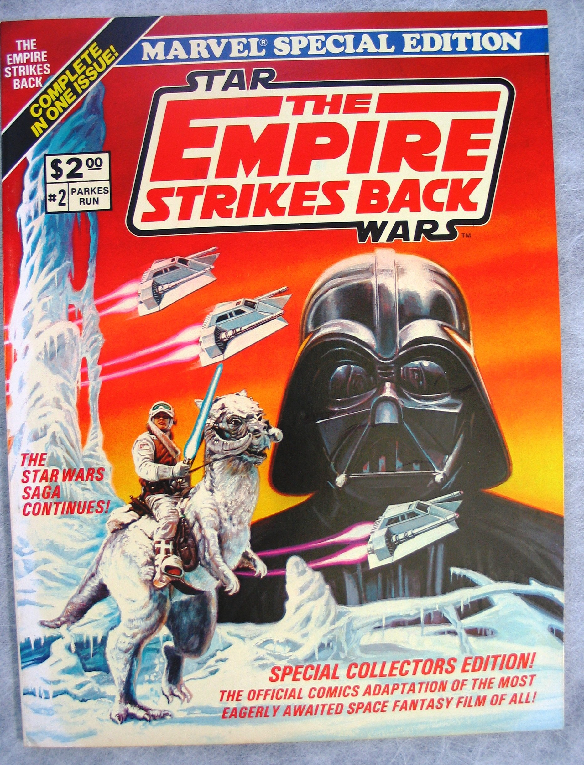 Star Wars: The Empire Strikes Back (Marvel Special Edition 2)