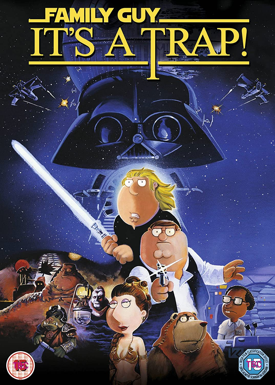 Family Guy Star Wars: It's a Trap (DVD)