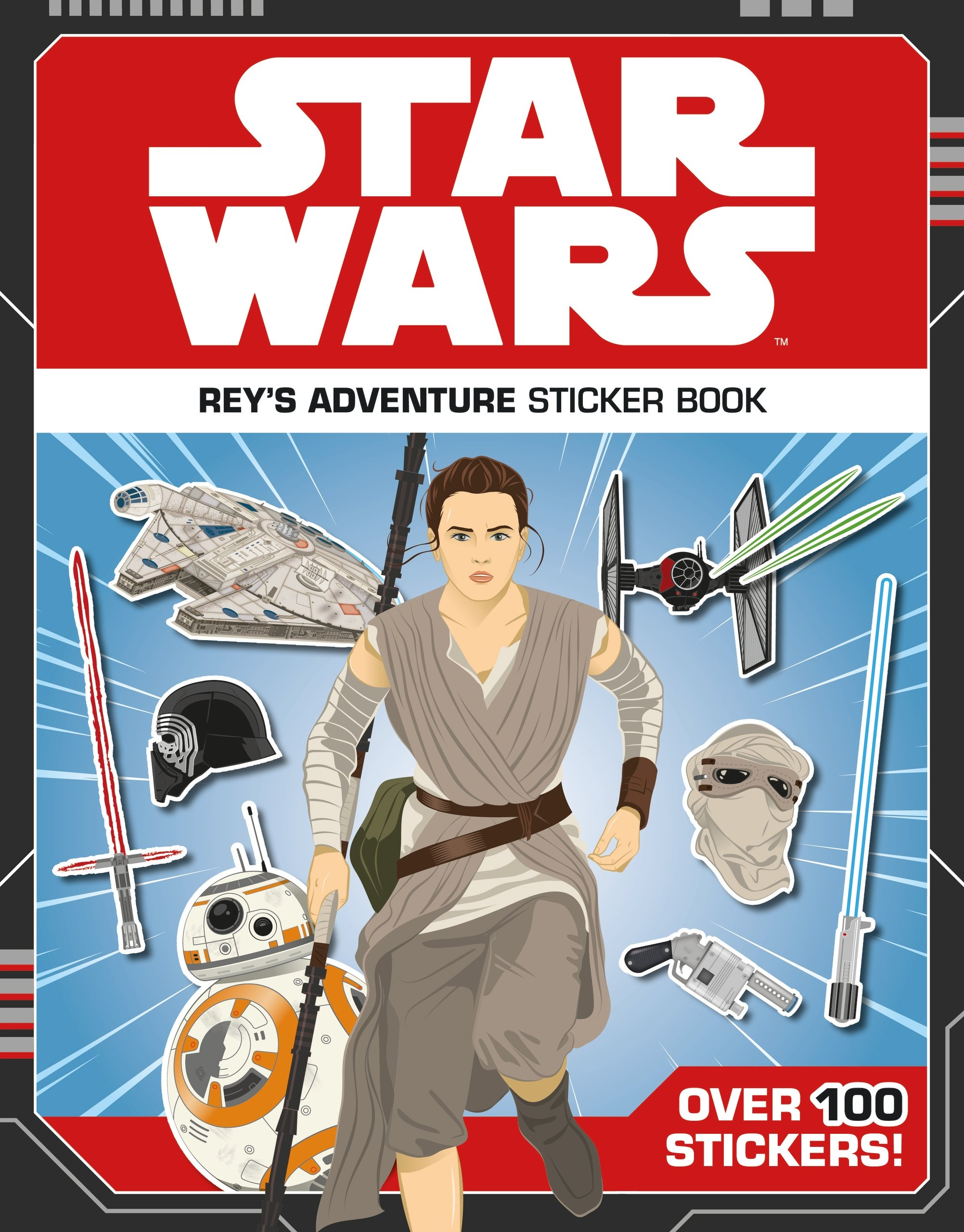 Star Wars: Rey's Adventure Sticker Book