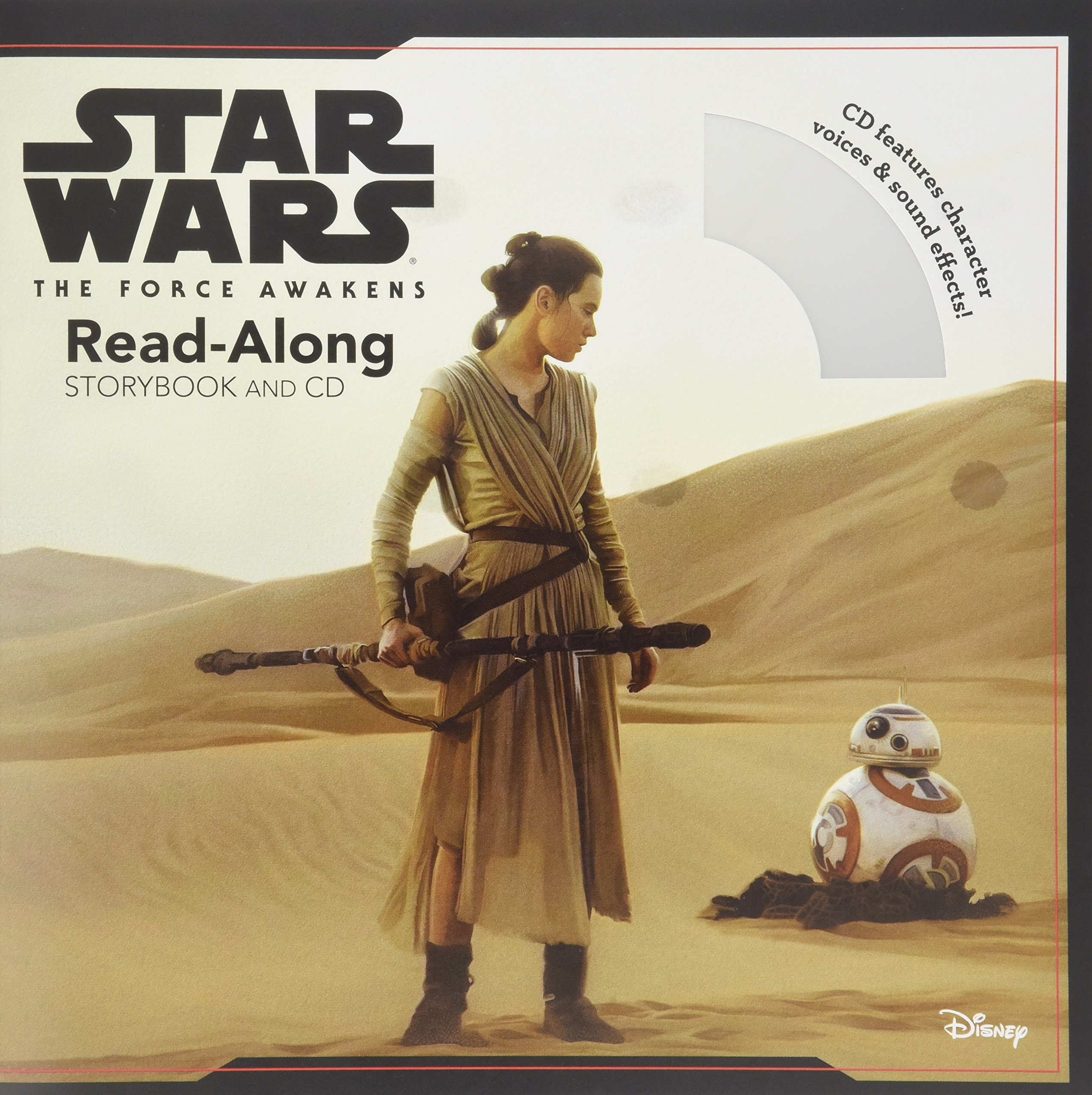 Star Wars: The Force Awakens Read-Along Book and CD