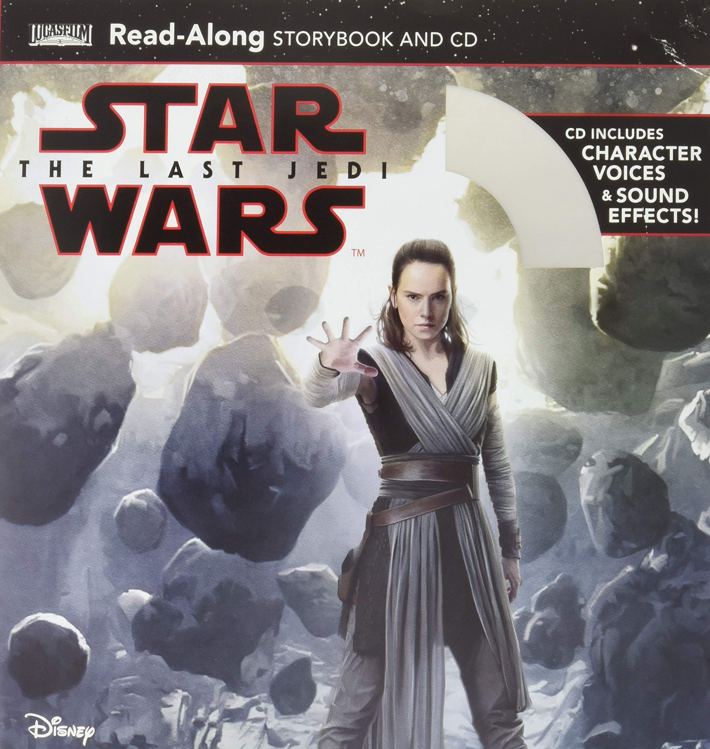 Star Wars: The Last Jedi Read-Along Book and CD