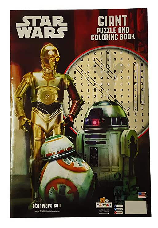 Star Wars Giant Puzzle and Coloring Book