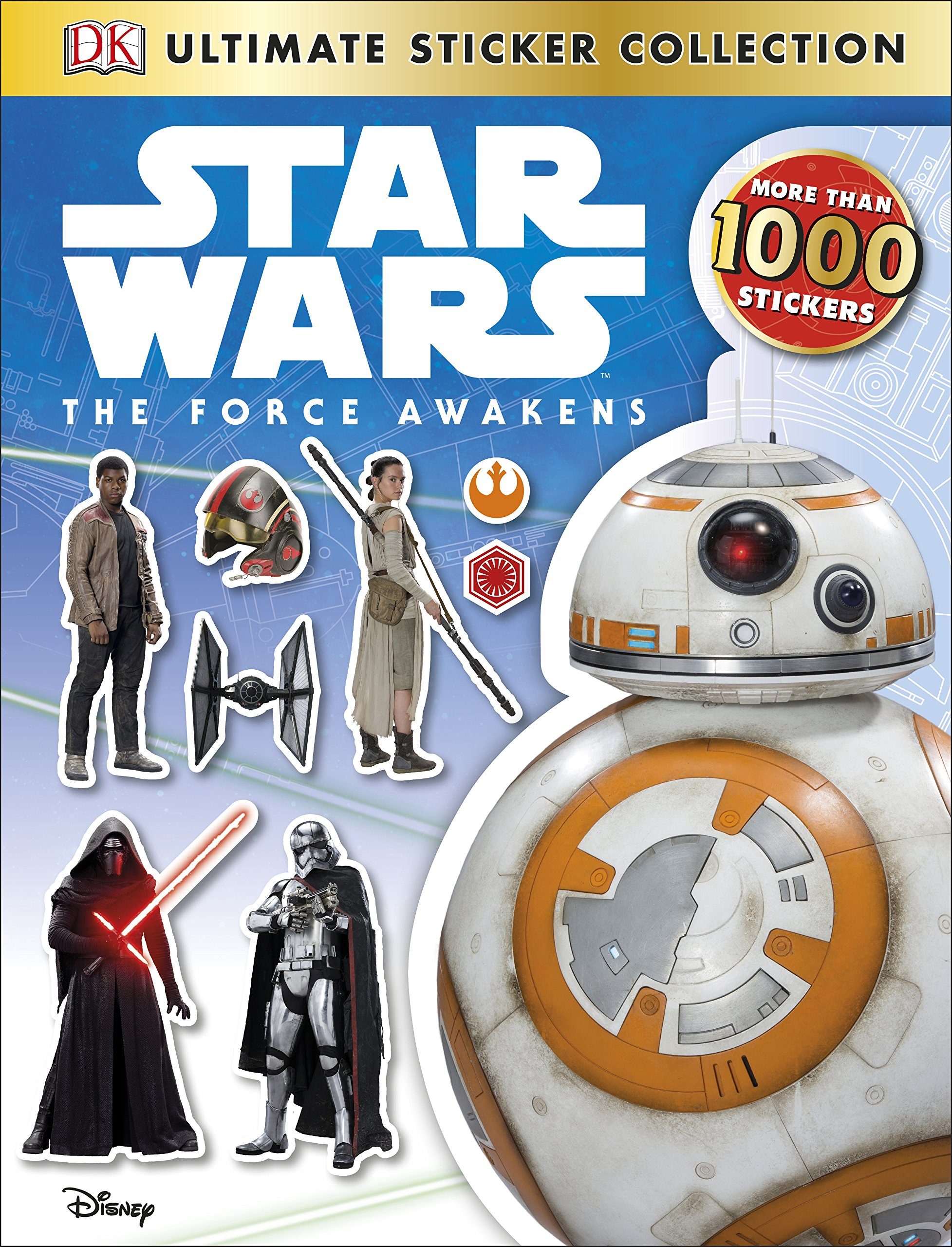 Star Wars The Force Awakens: Ultimate Sticker Collection